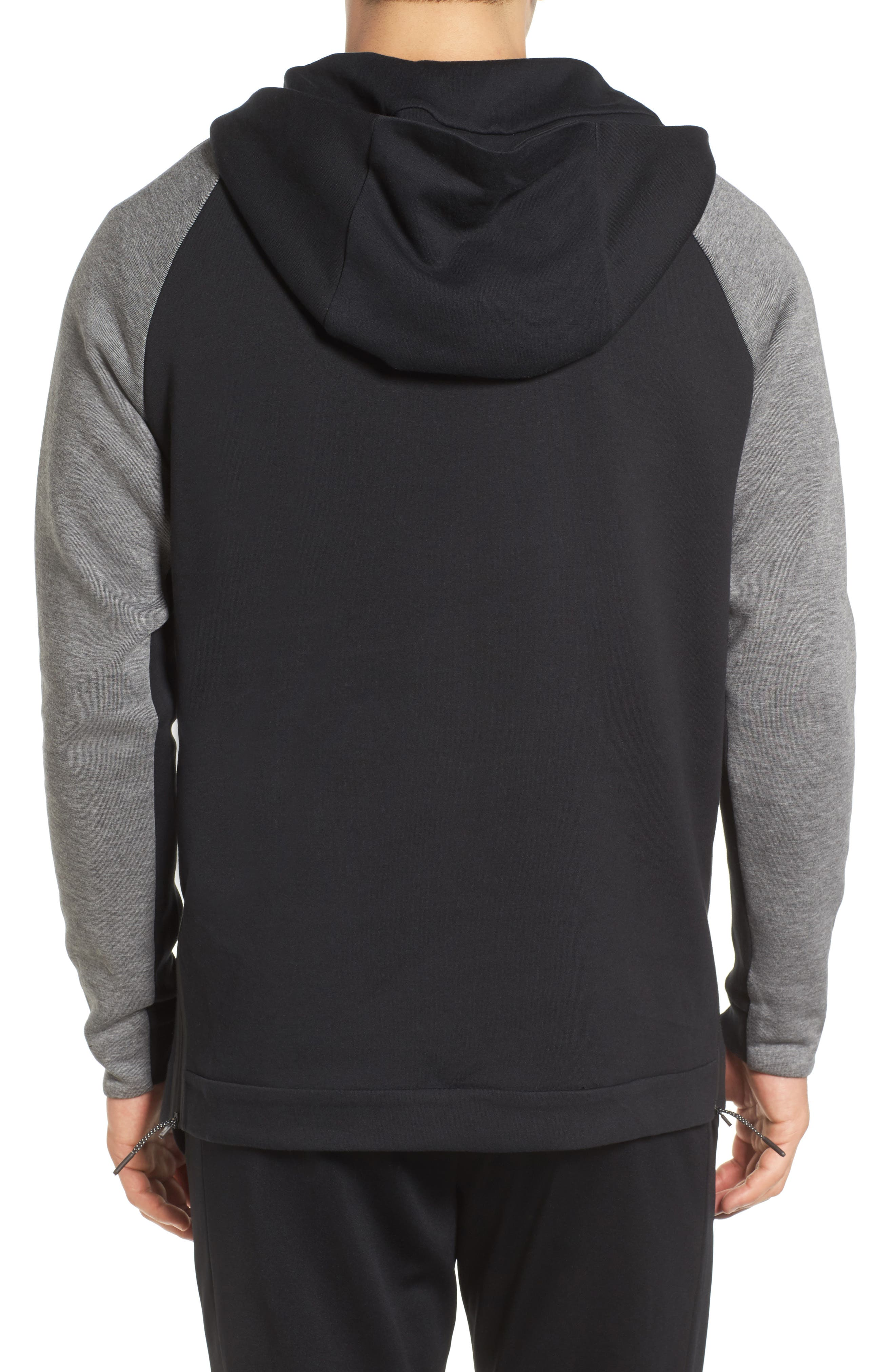 Half-Zip Pullover Hoodie,                             Alternate thumbnail 5, color,