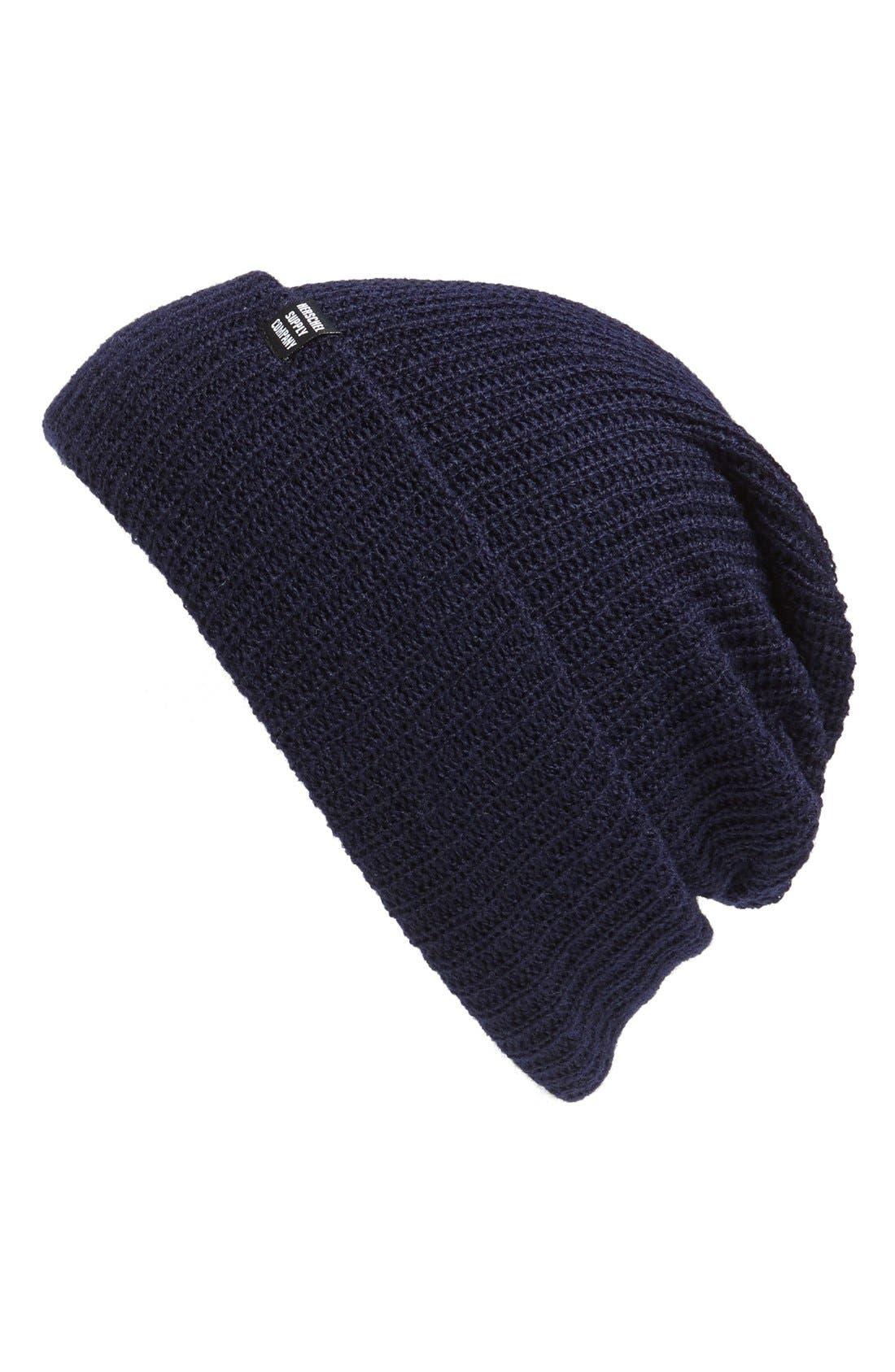 'Quartz' Solid Knit Cap,                             Main thumbnail 6, color,