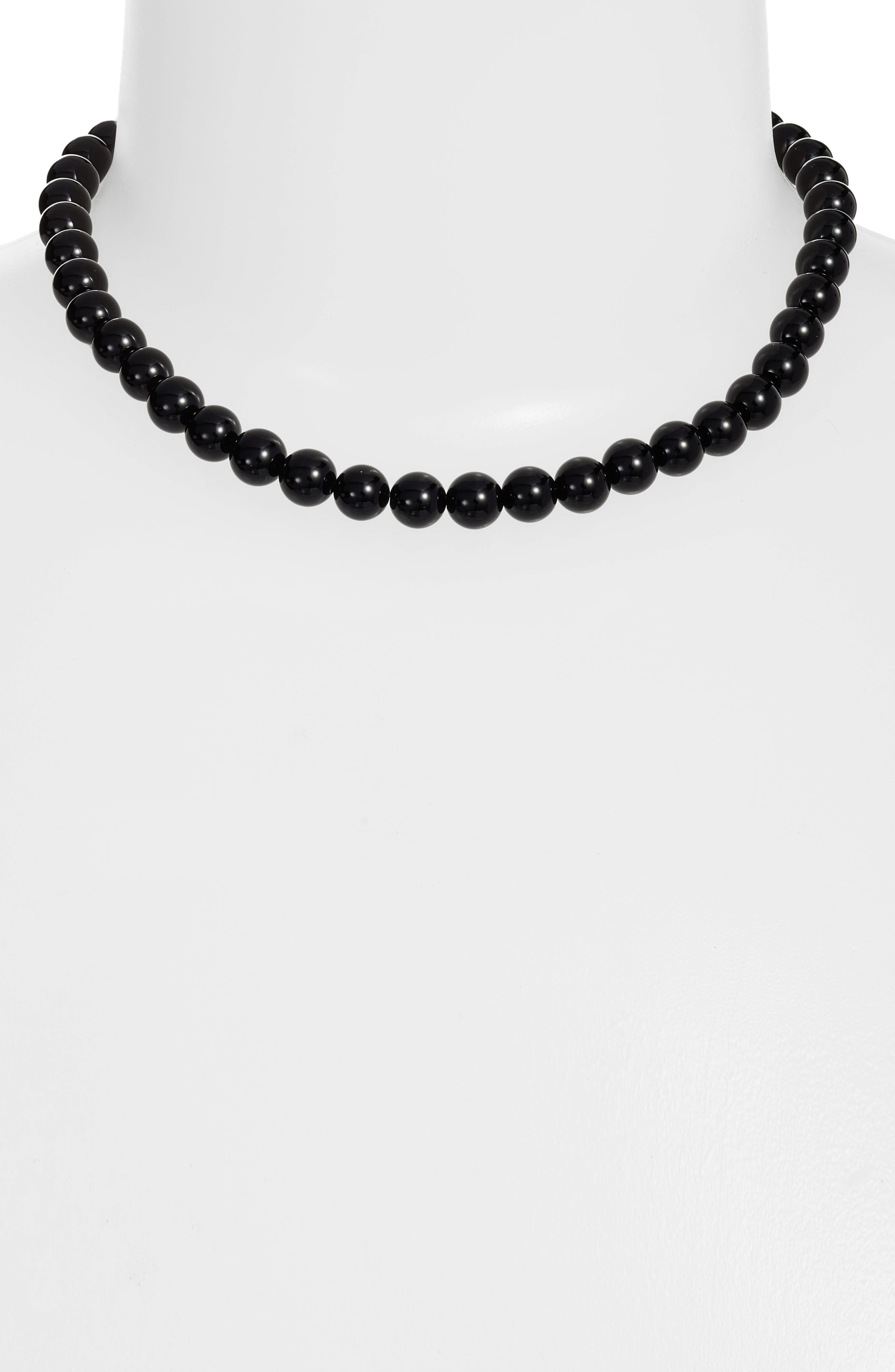 Collar Necklace,                             Alternate thumbnail 2, color,                             001