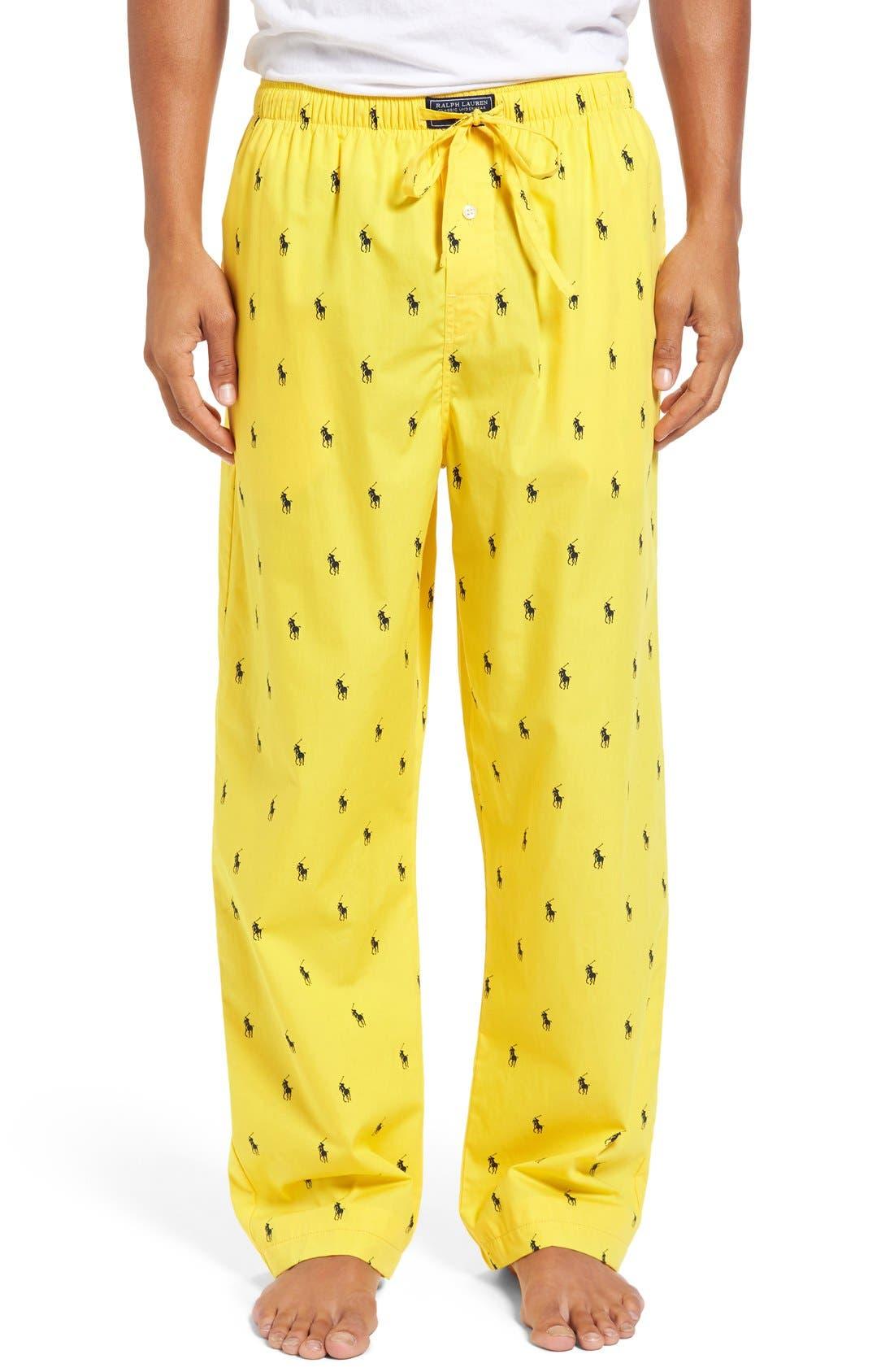 Cotton Lounge Pants,                             Main thumbnail 13, color,