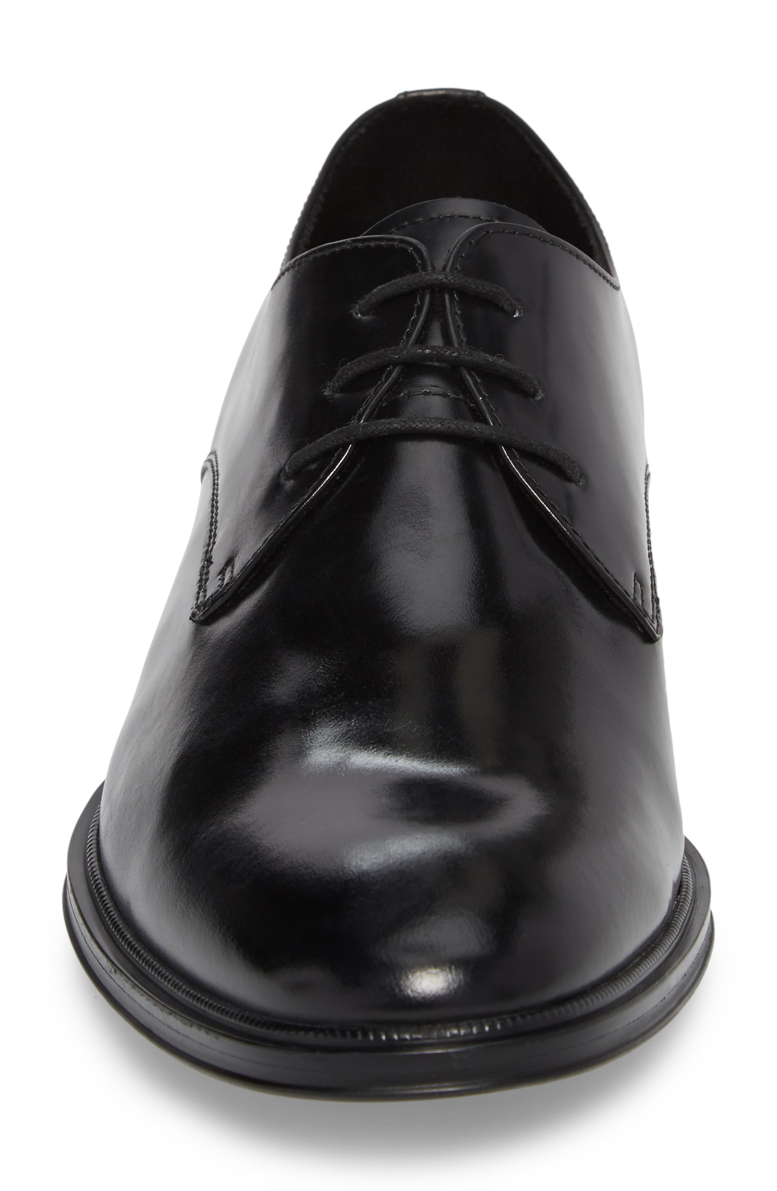 Kenneth Cole Tully Plain Toe Derby,                             Alternate thumbnail 4, color,                             001