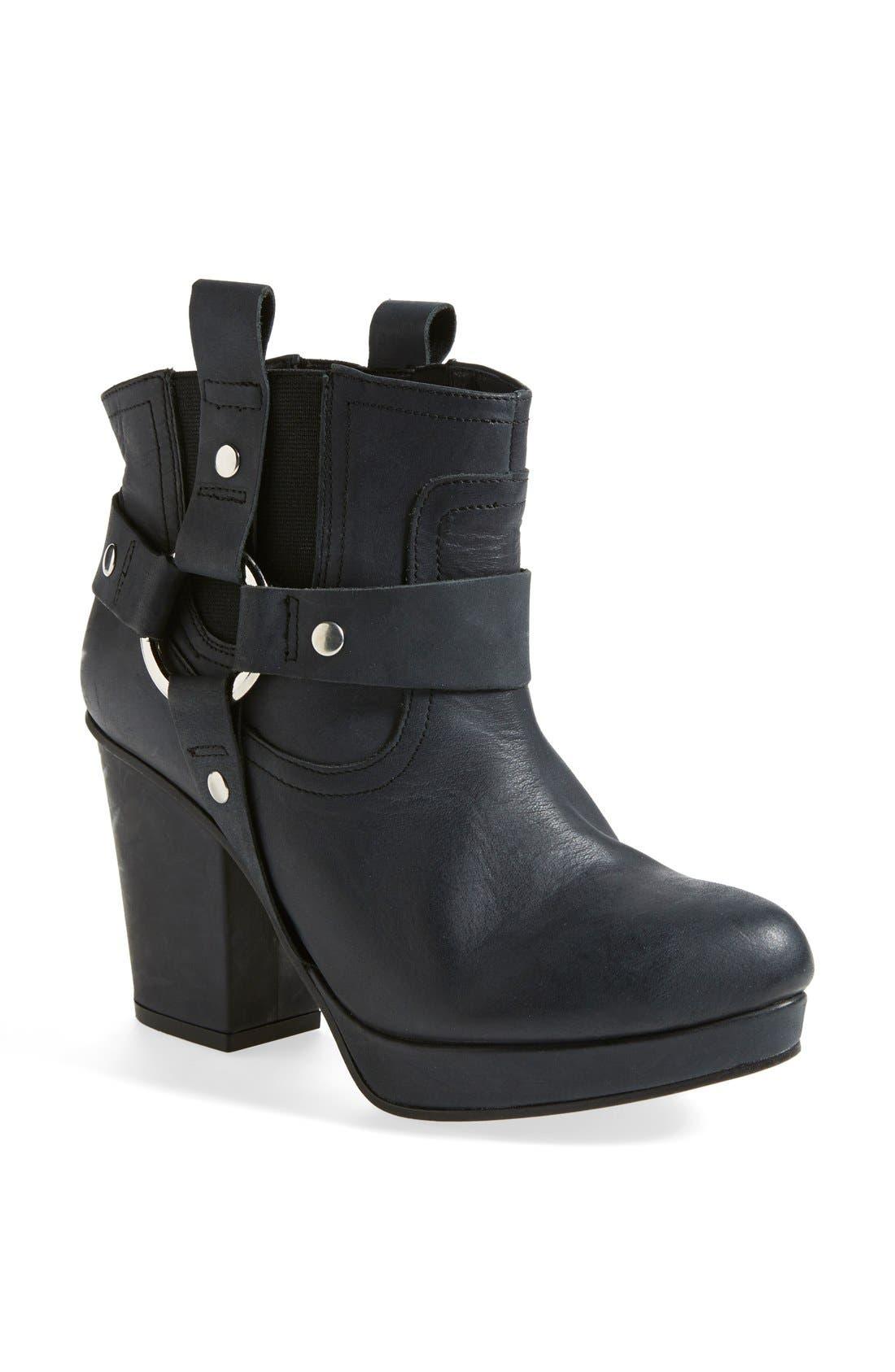 'Alexus' Harness Boot,                         Main,                         color, 001