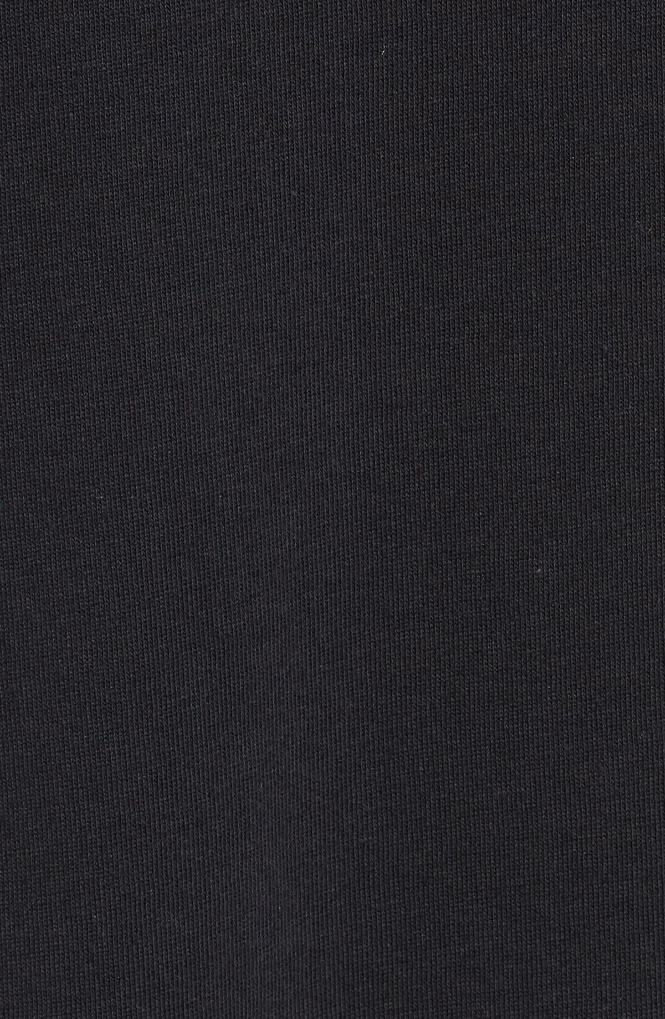 Nike 'SB Logo' T-Shirt,                             Alternate thumbnail 5, color,                             BLACK/ YELLOW/ OCHRE