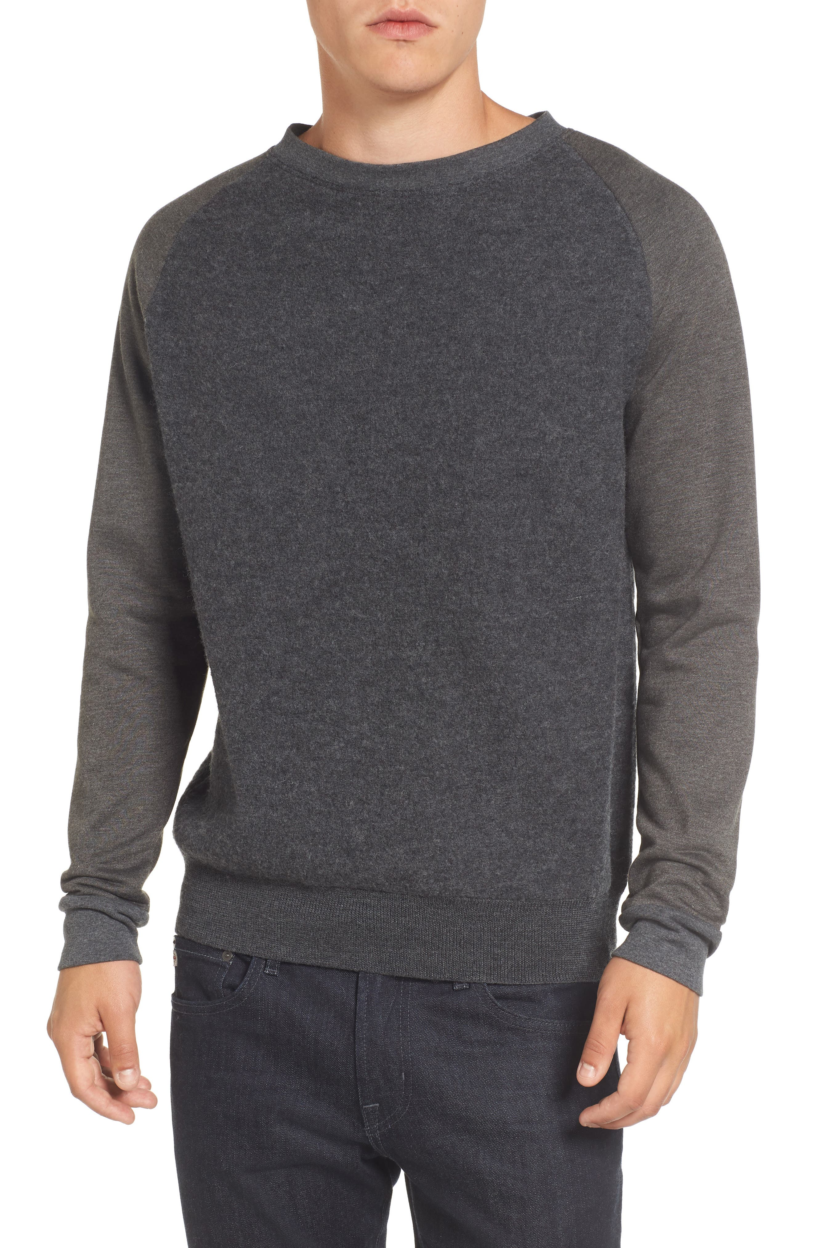 Crewneck Sweater,                             Main thumbnail 1, color,