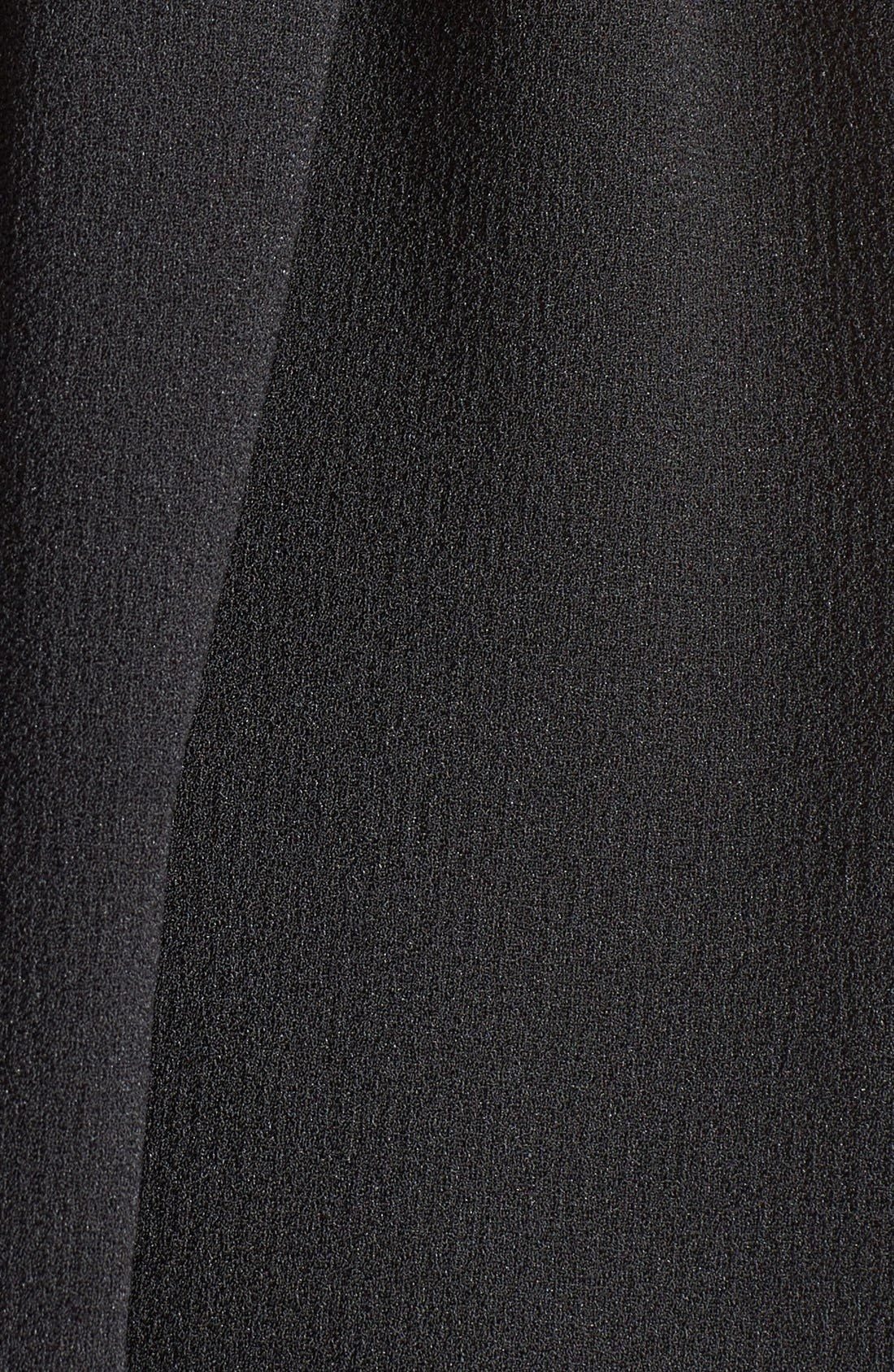 BASIL LOLA,                             Strappy Babydoll Dress,                             Alternate thumbnail 3, color,                             001