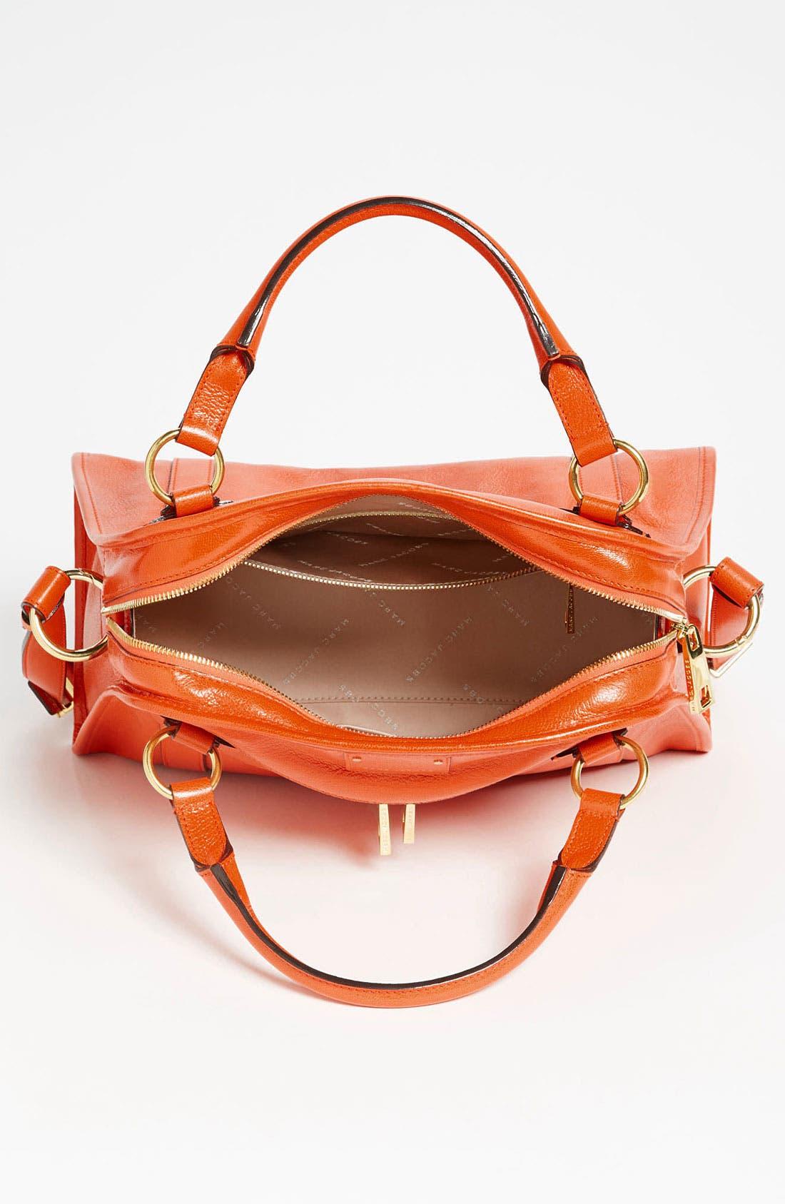 'Classic Wellington' Leather Satchel,                             Alternate thumbnail 34, color,