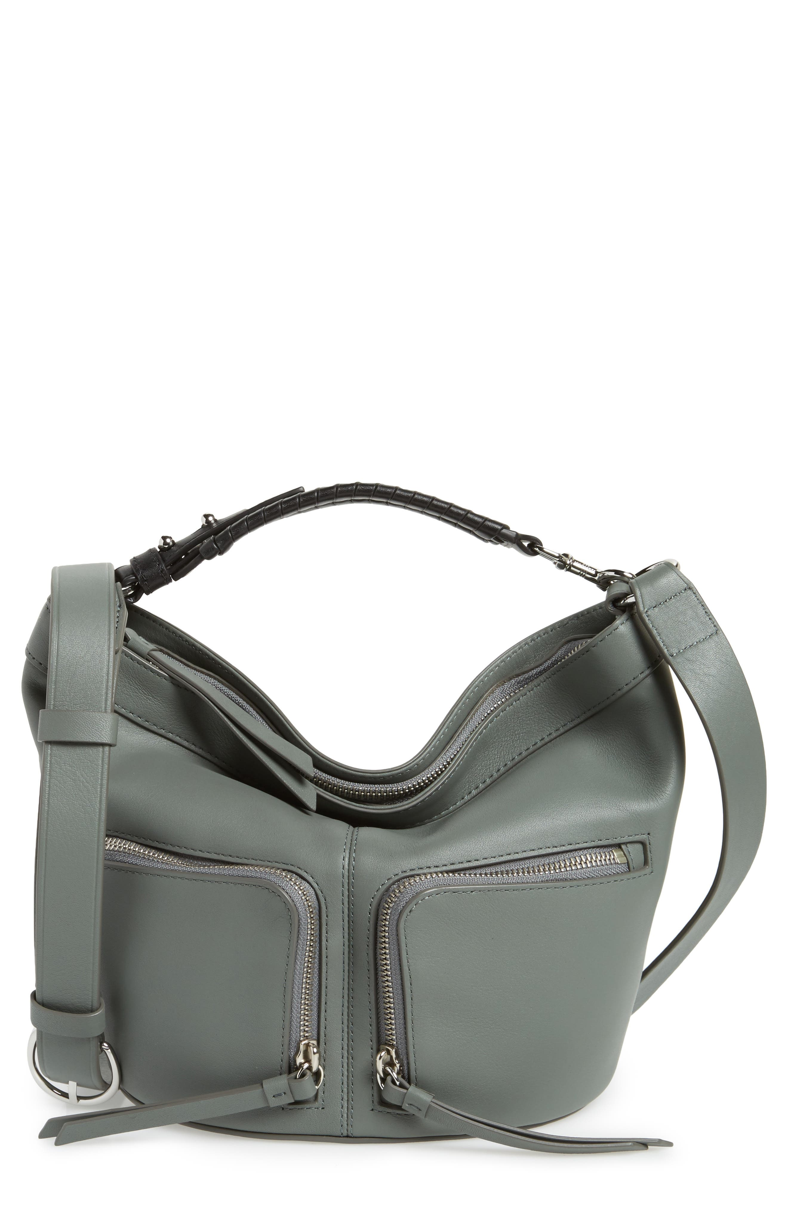 Fetch Leather Crossbody Bag,                         Main,                         color, 462