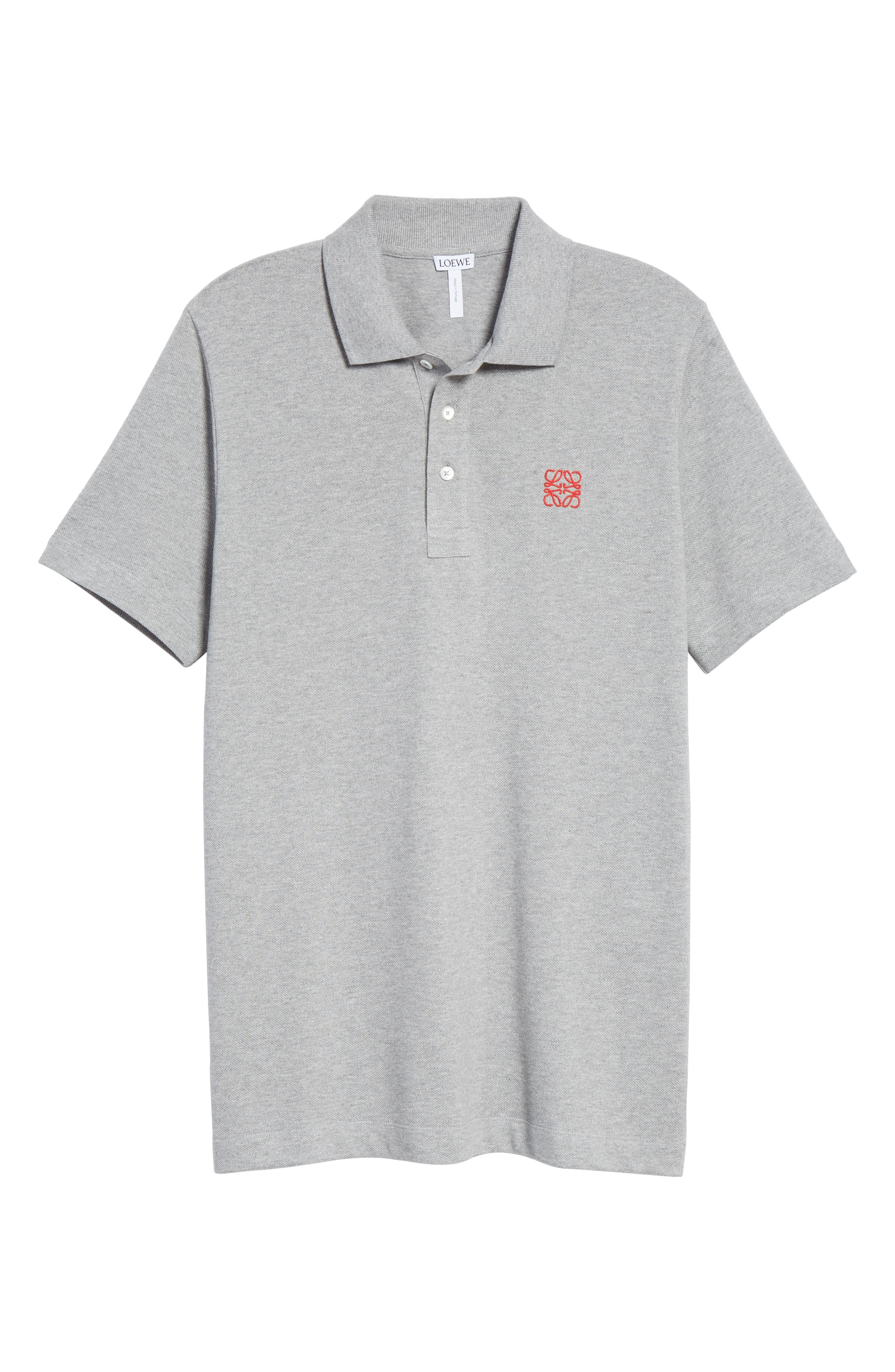 Anagram Polo,                             Alternate thumbnail 6, color,                             TRUE GREY