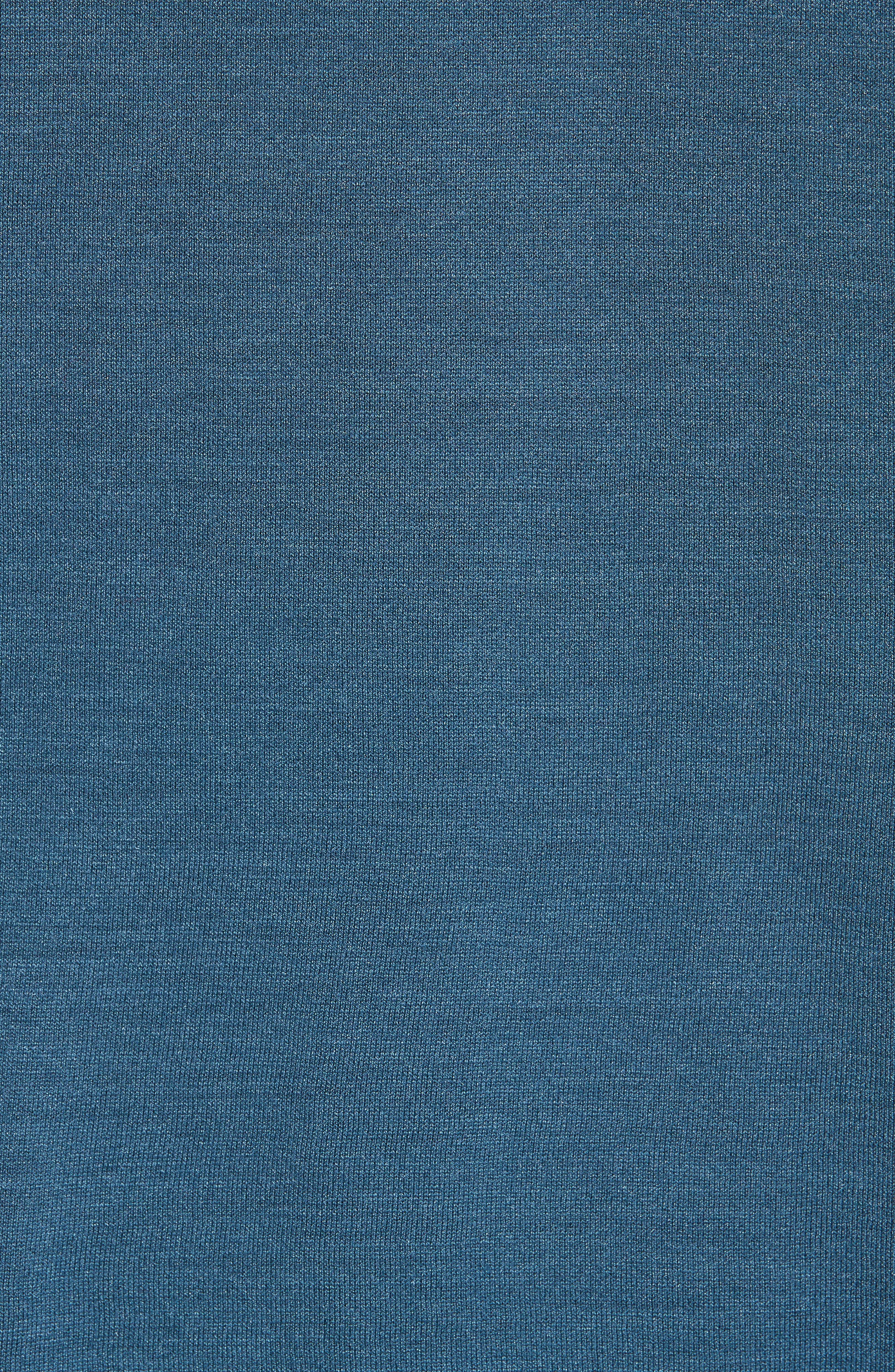 Hampton Jersey Polo,                             Alternate thumbnail 5, color,                             OCEAN BLUE