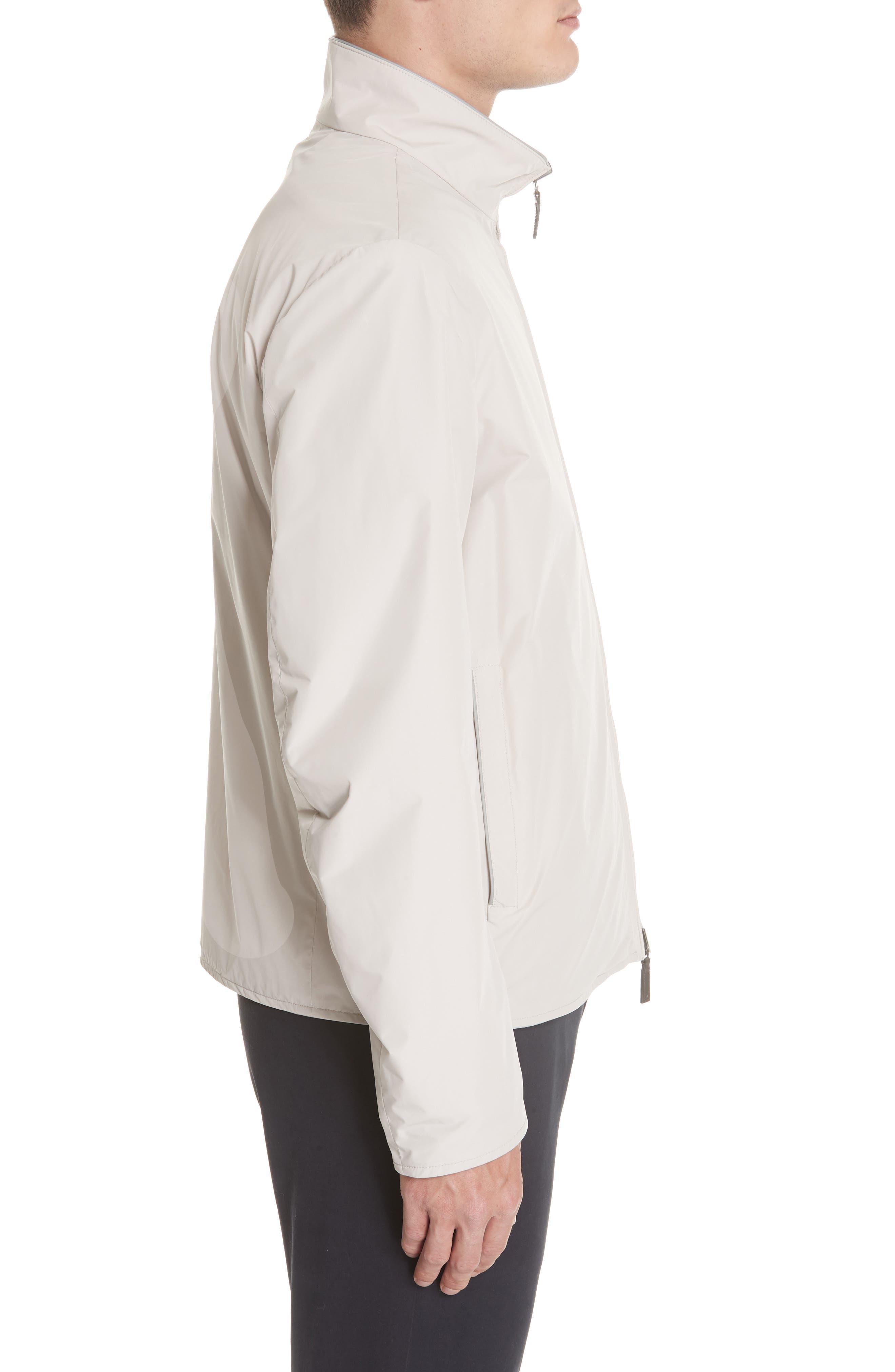 Regular Fit Cotton Jacket,                             Alternate thumbnail 4, color,