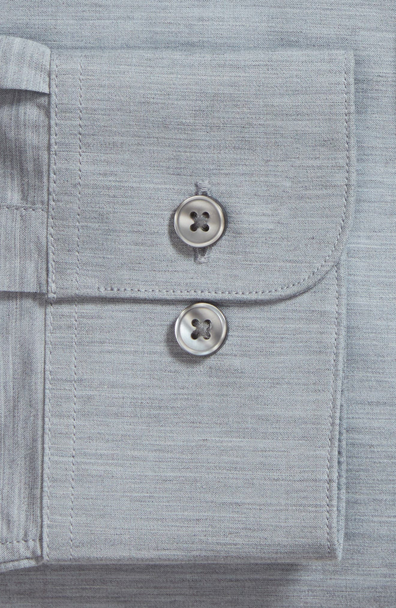 Slim Fit Stretch Solid Dress Shirt,                             Alternate thumbnail 6, color,                             432