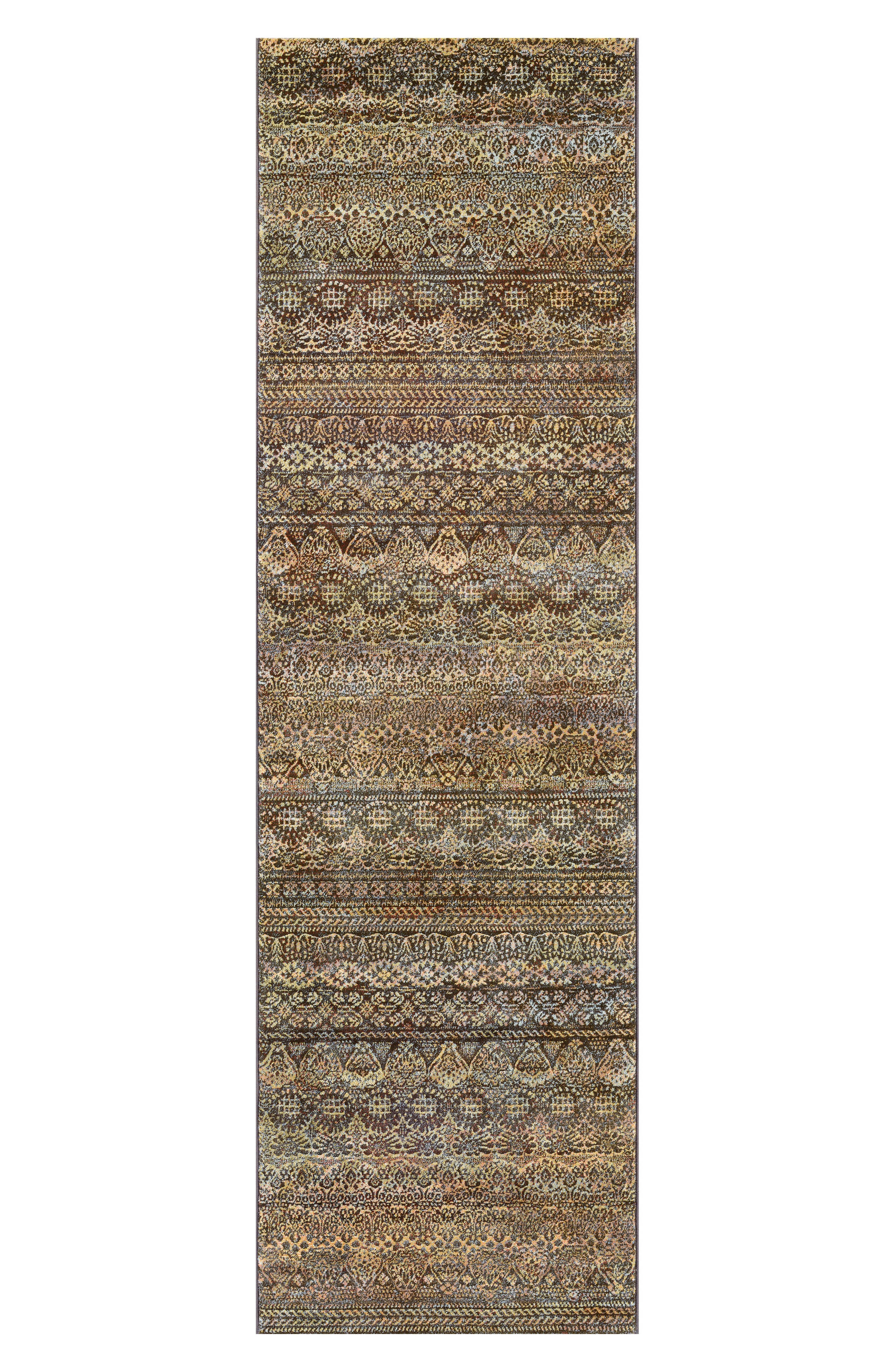 Easton Capella Area Rug,                             Alternate thumbnail 2, color,                             BROWN/ MULTI