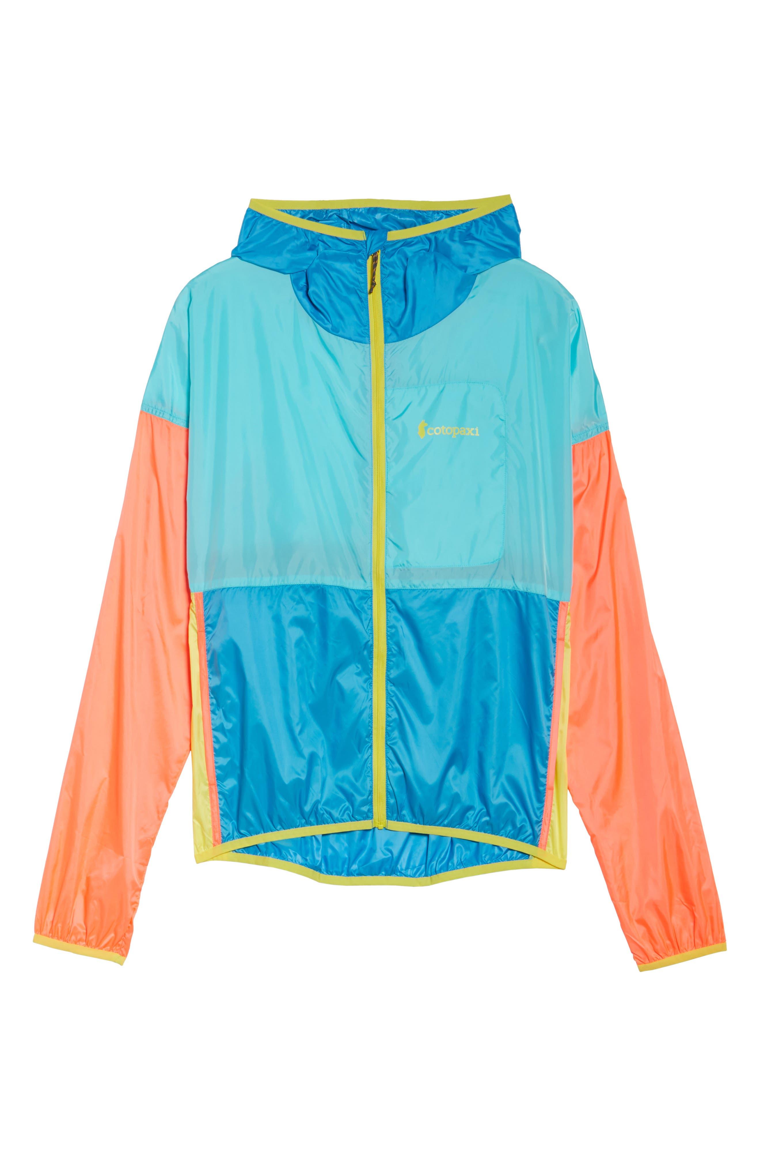 Teca Packable Water Resistant Windbreaker Jacket,                             Alternate thumbnail 28, color,