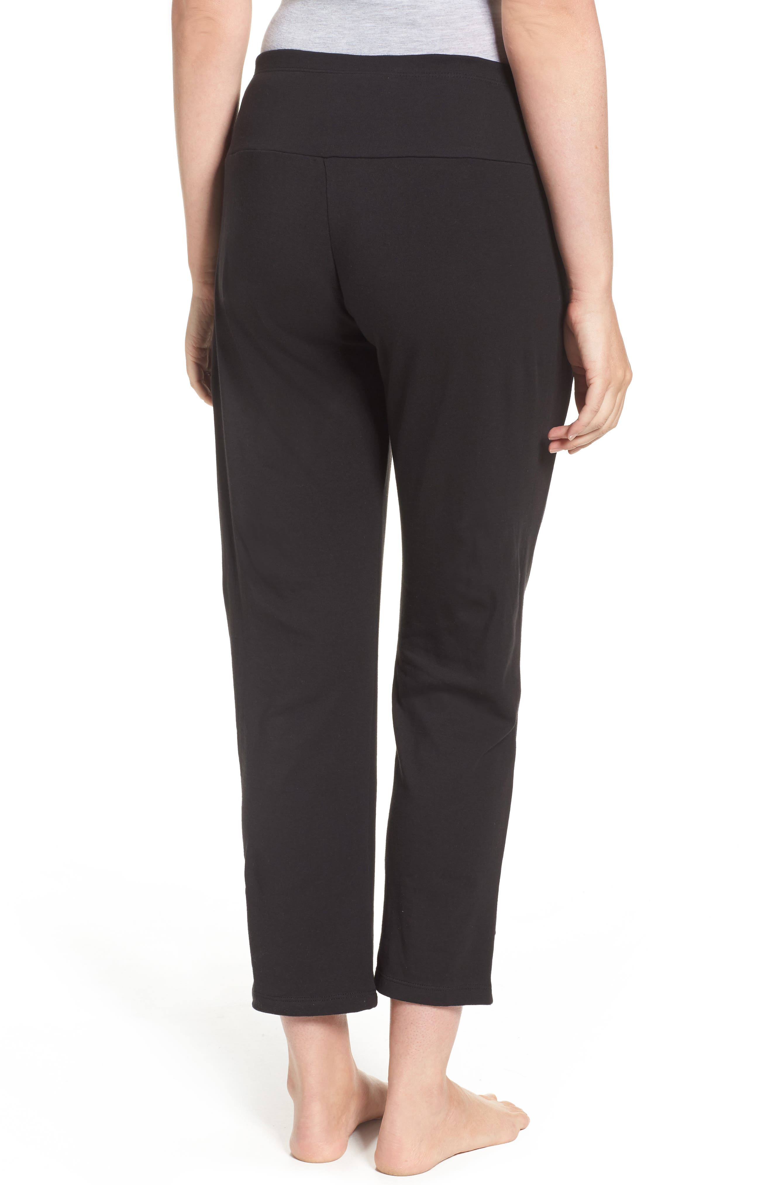 New Mama Relaxed Fit Pants,                             Alternate thumbnail 2, color,                             001