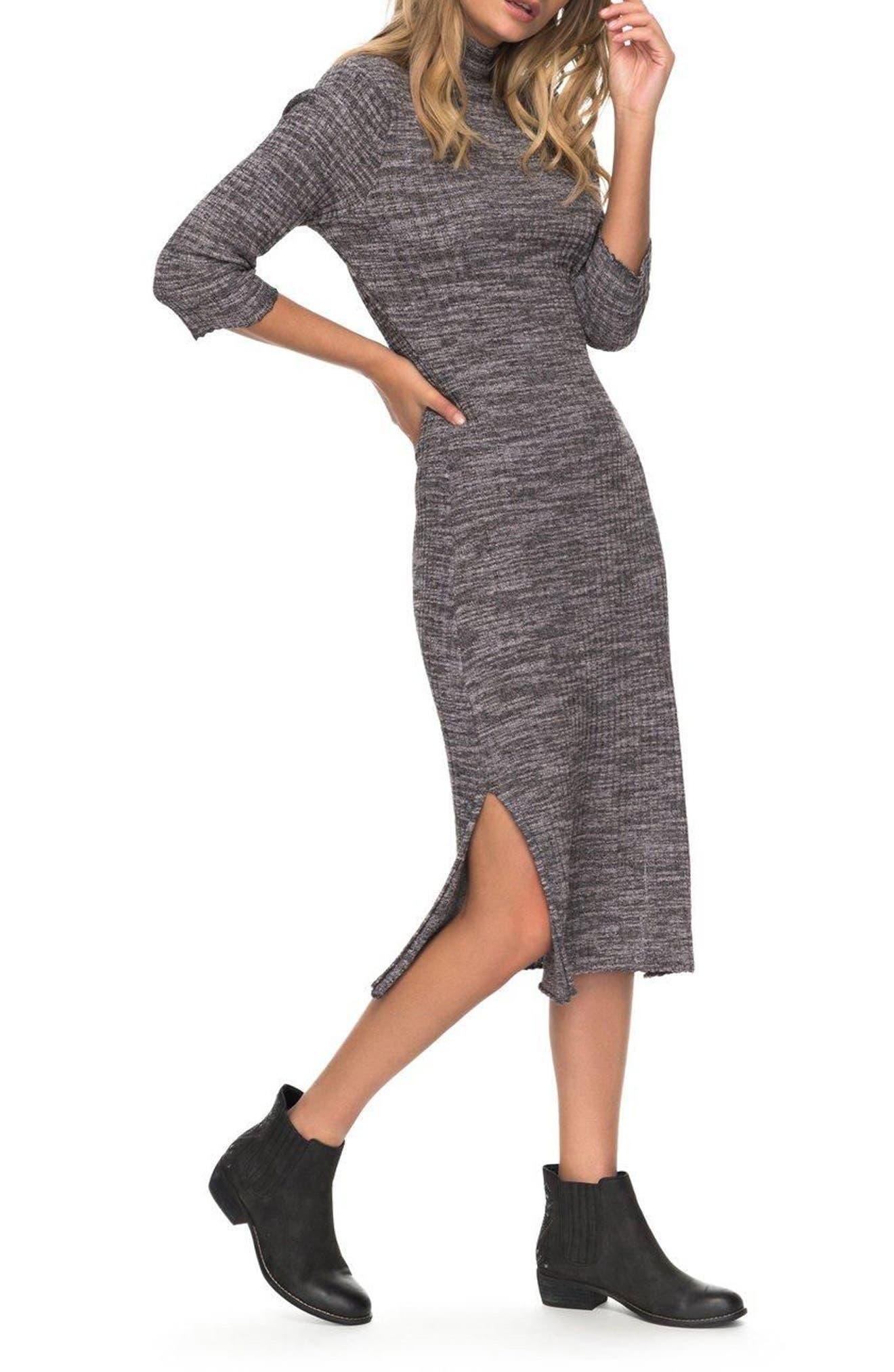 Hello Fall Sweater Dress,                             Alternate thumbnail 3, color,