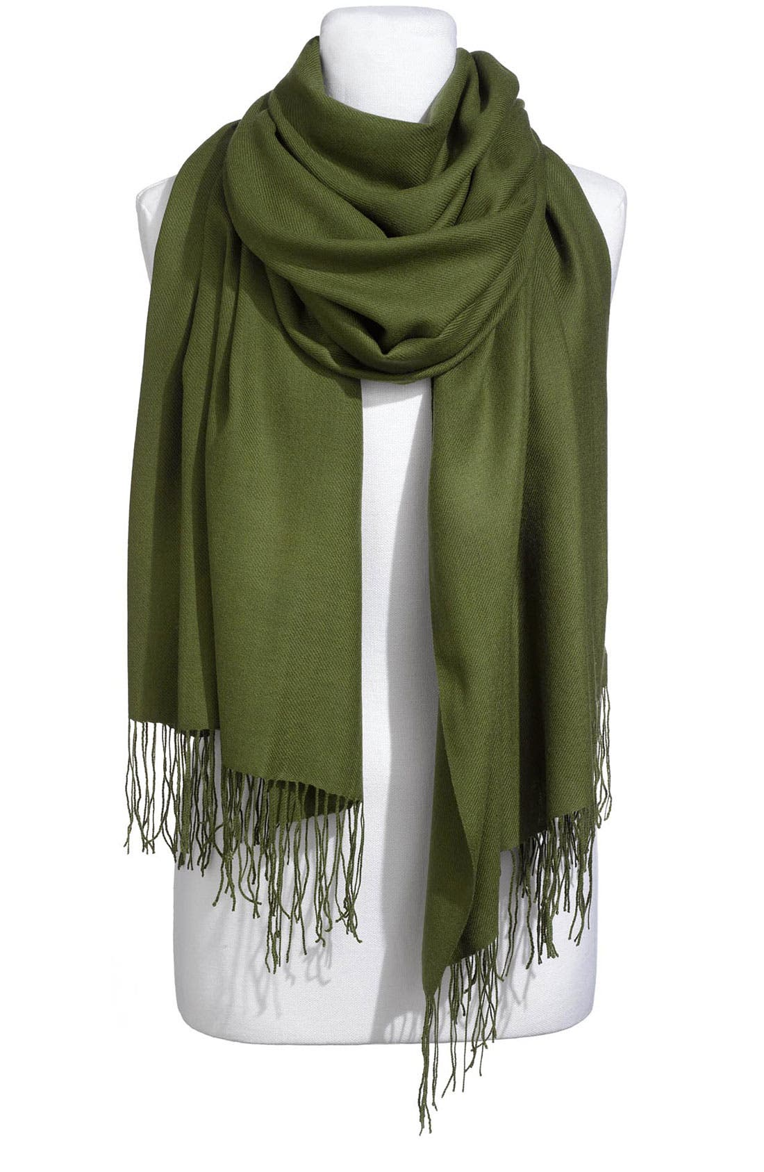 Tissue Weight Wool & Cashmere Wrap,                             Main thumbnail 35, color,