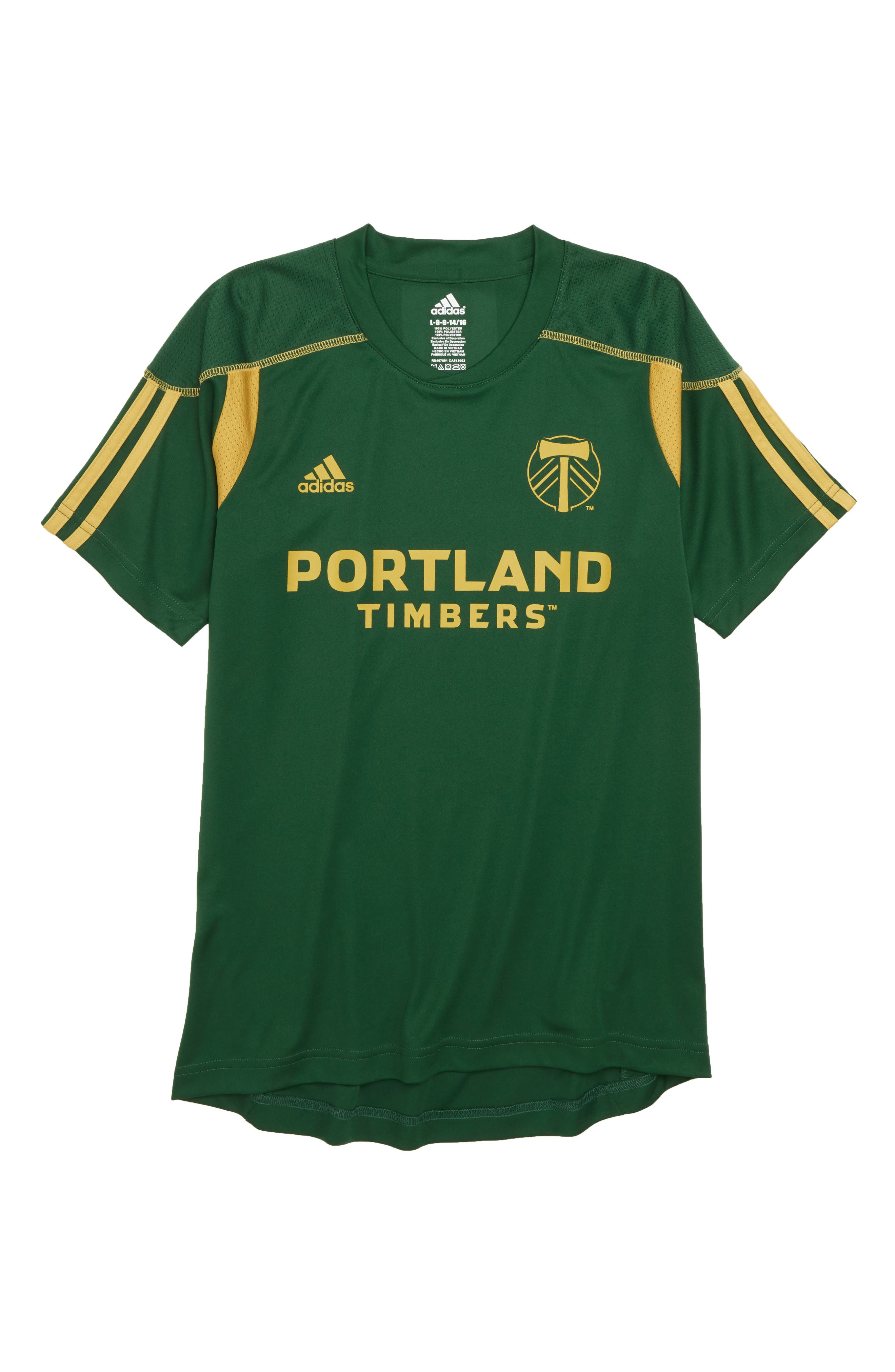 MLS Portland Timbers Primary Logo Graphic T-Shirt,                             Main thumbnail 1, color,                             300