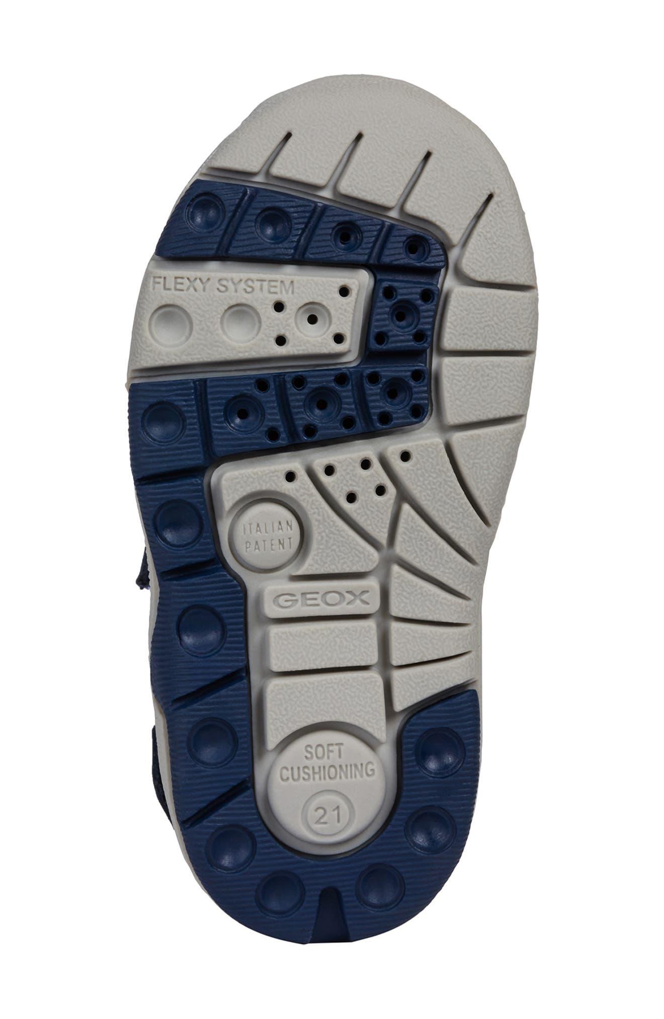 Multy Water Friendly Sandal,                             Alternate thumbnail 6, color,                             NAVY/ YELLOW