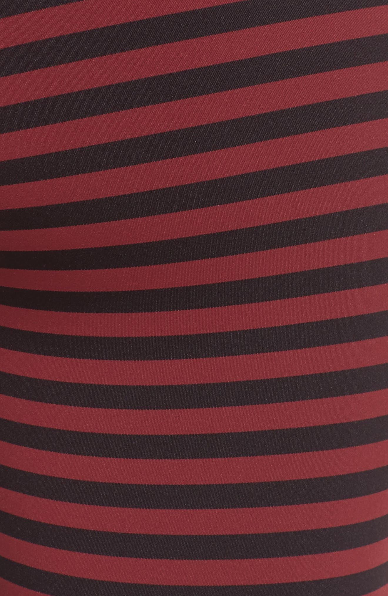 Stripe 7/8 Leggings,                             Alternate thumbnail 6, color,                             601