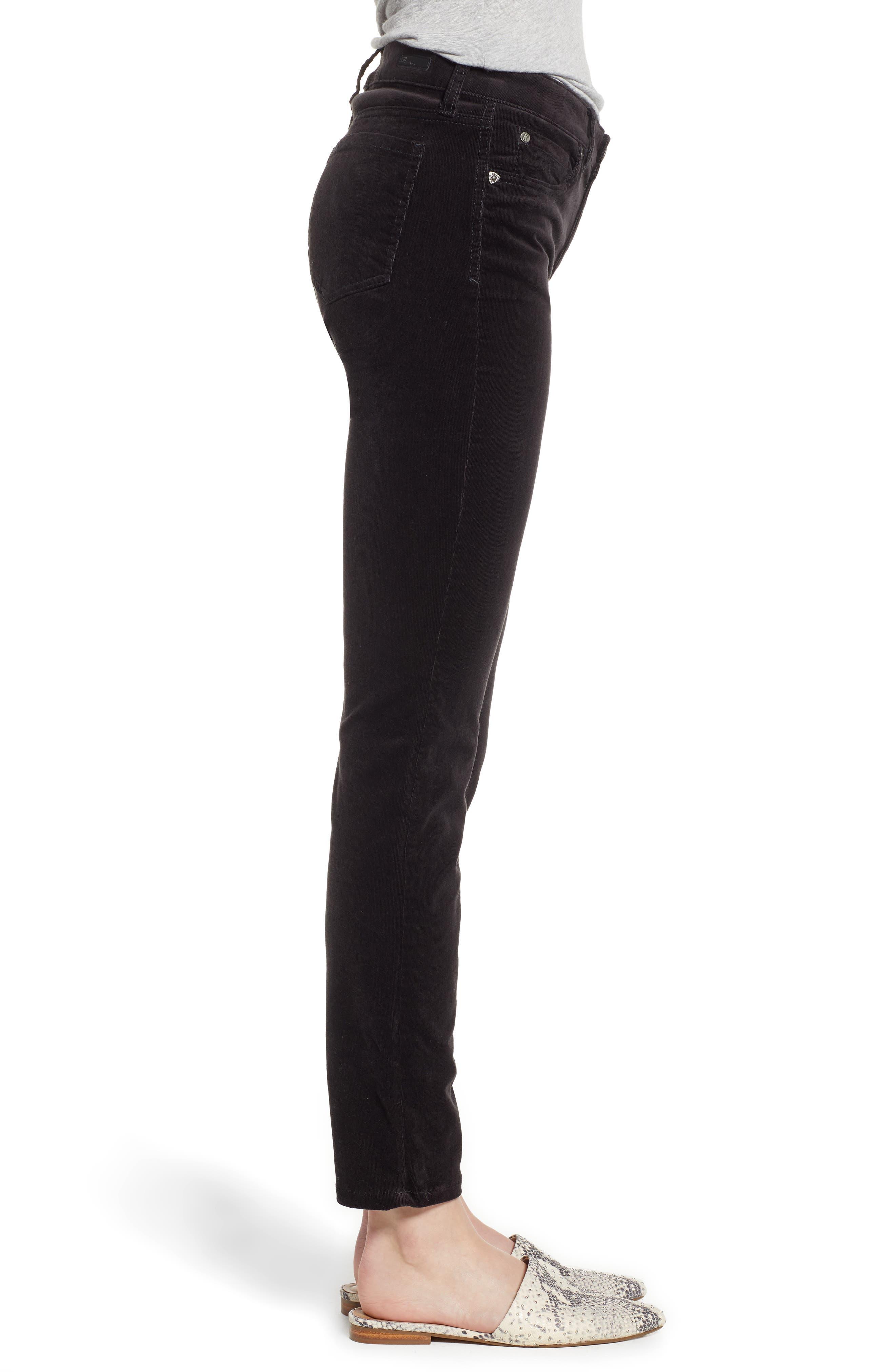 'Diana' Stretch Corduroy Skinny Pants,                             Alternate thumbnail 159, color,