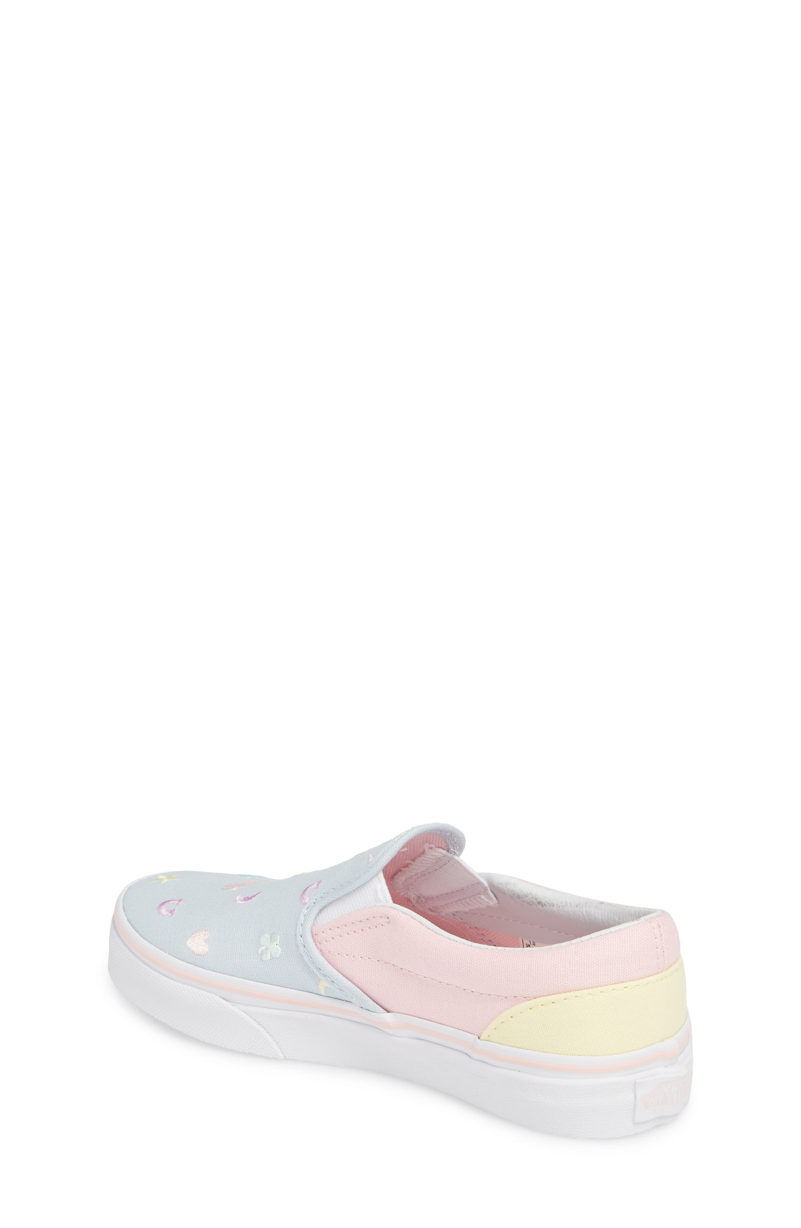 Classic Slip-On,                             Alternate thumbnail 2, color,                             EMBROIDERED MULTI CHARMS