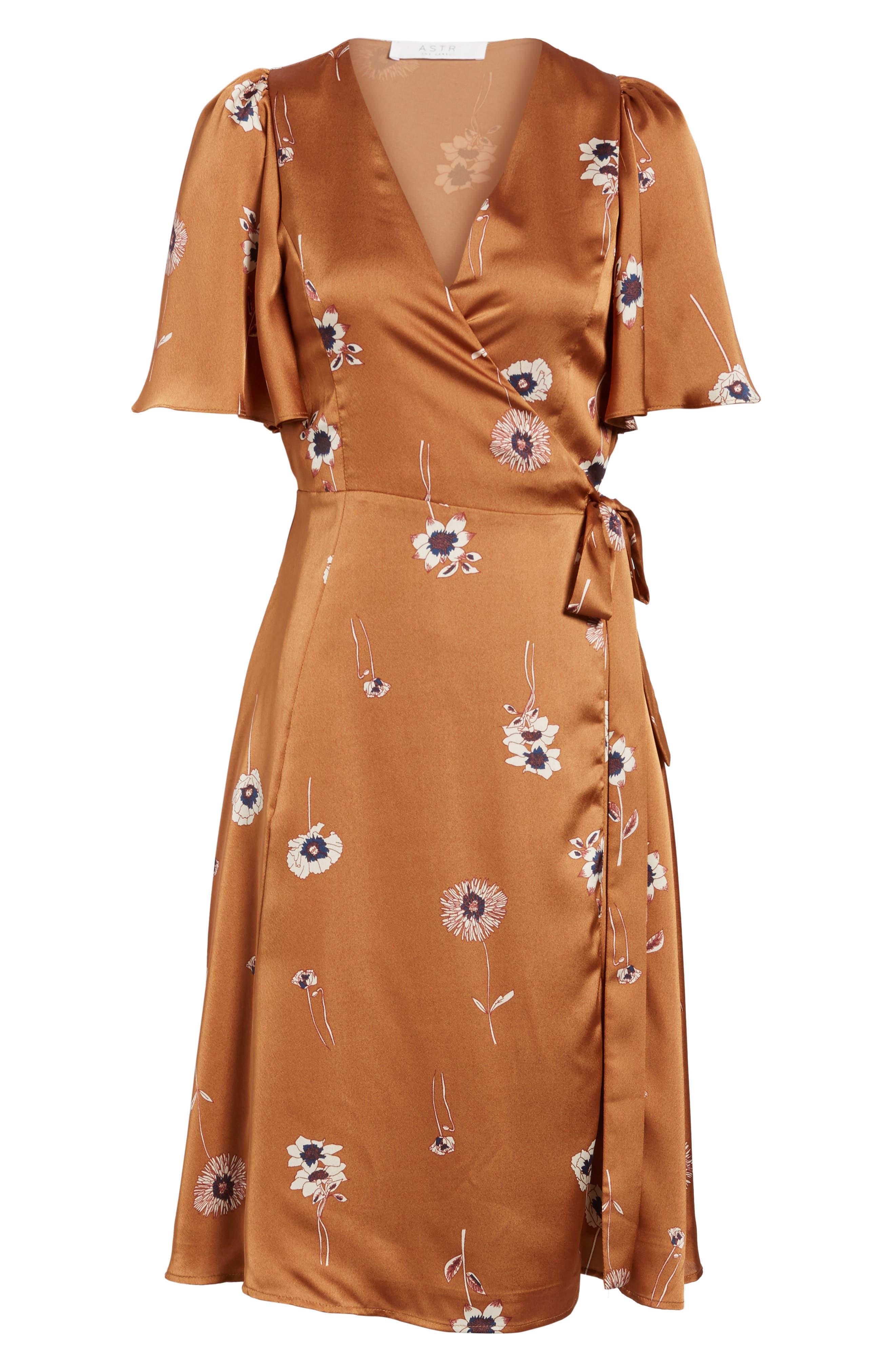 Fiona Wrap Dress,                             Alternate thumbnail 6, color,                             202