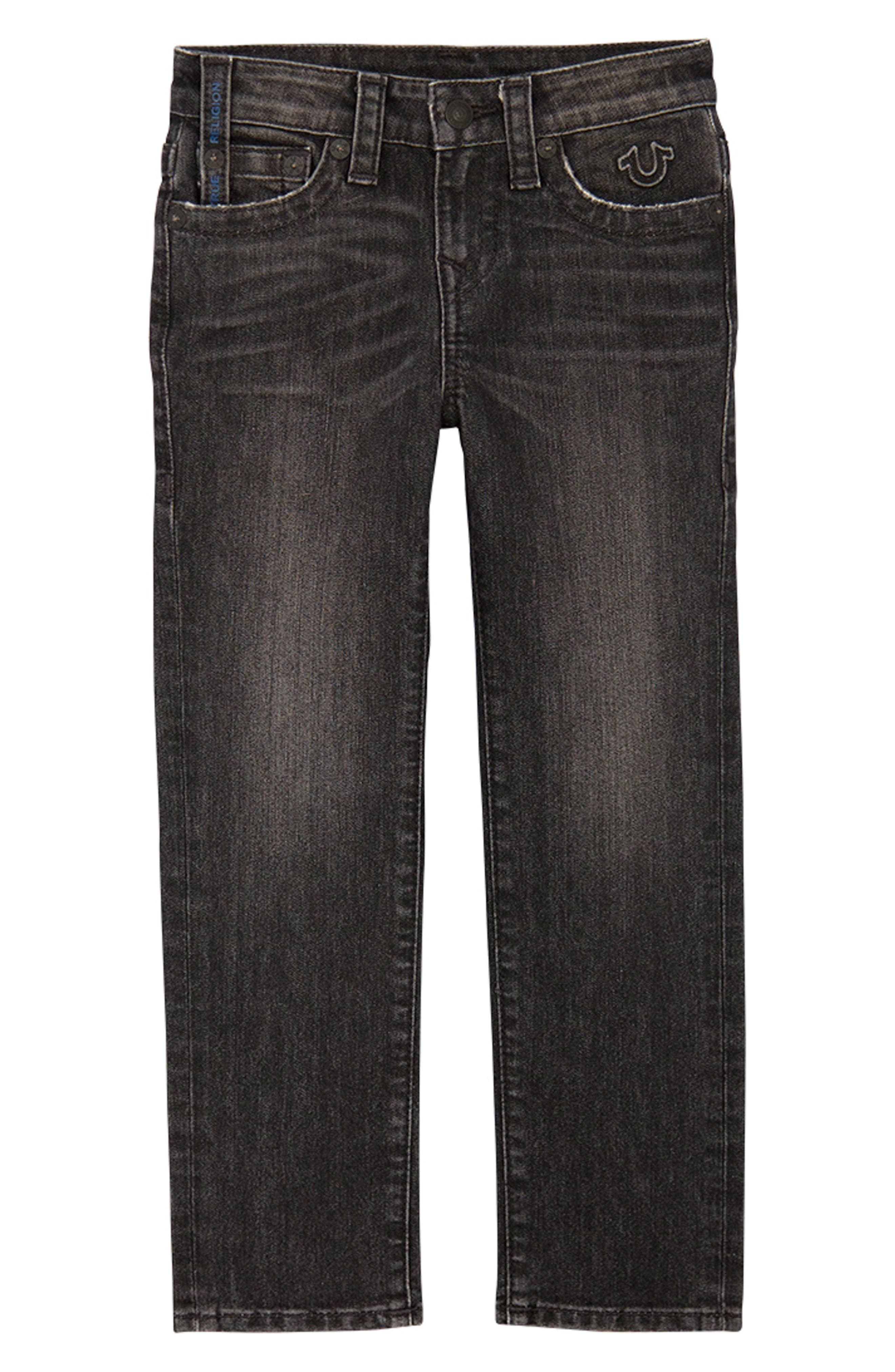 Geno Straight Leg Jeans,                             Main thumbnail 1, color,                             GRANITE WASH