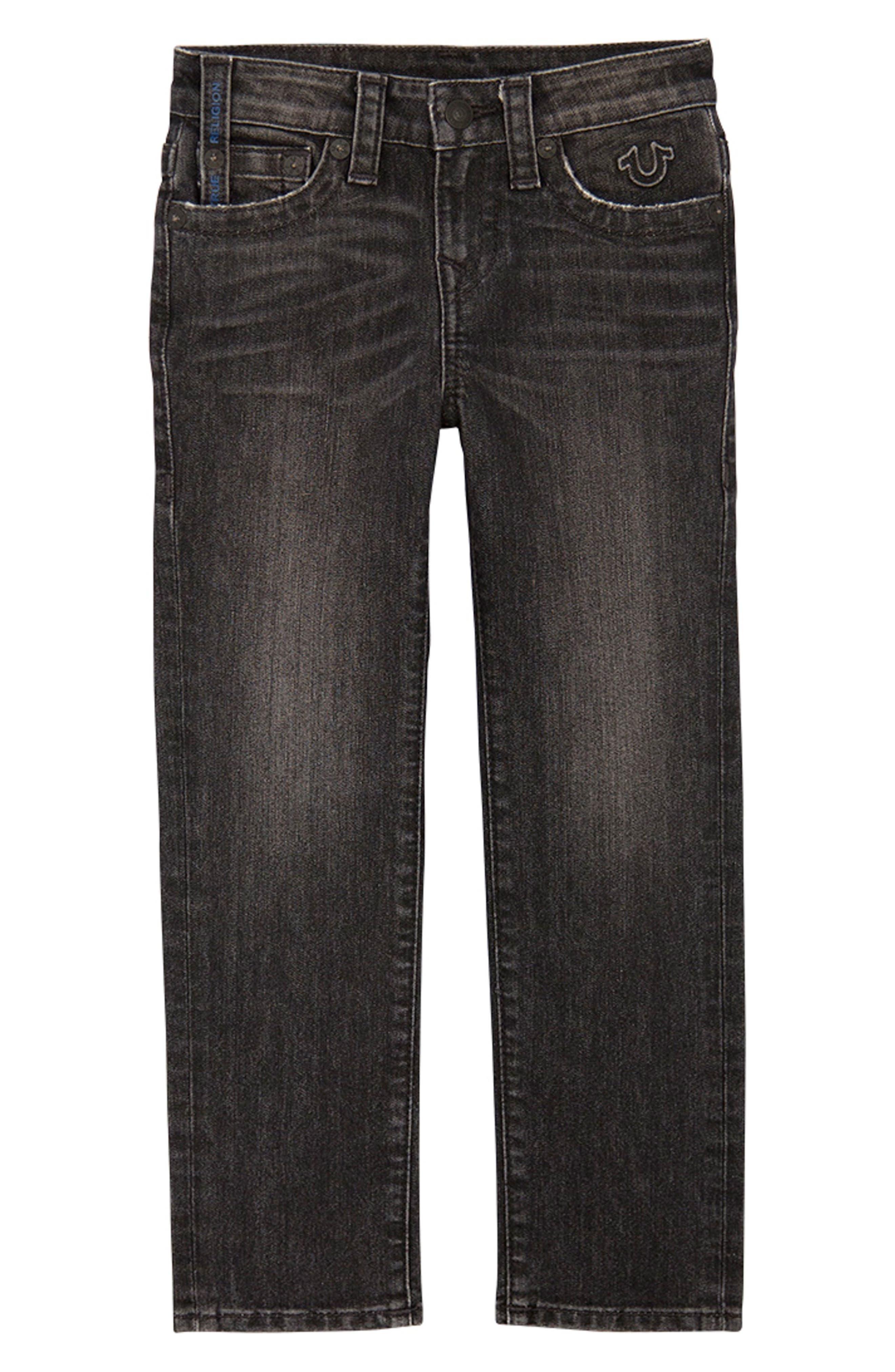 Geno Straight Leg Jeans, Main, color, GRANITE WASH