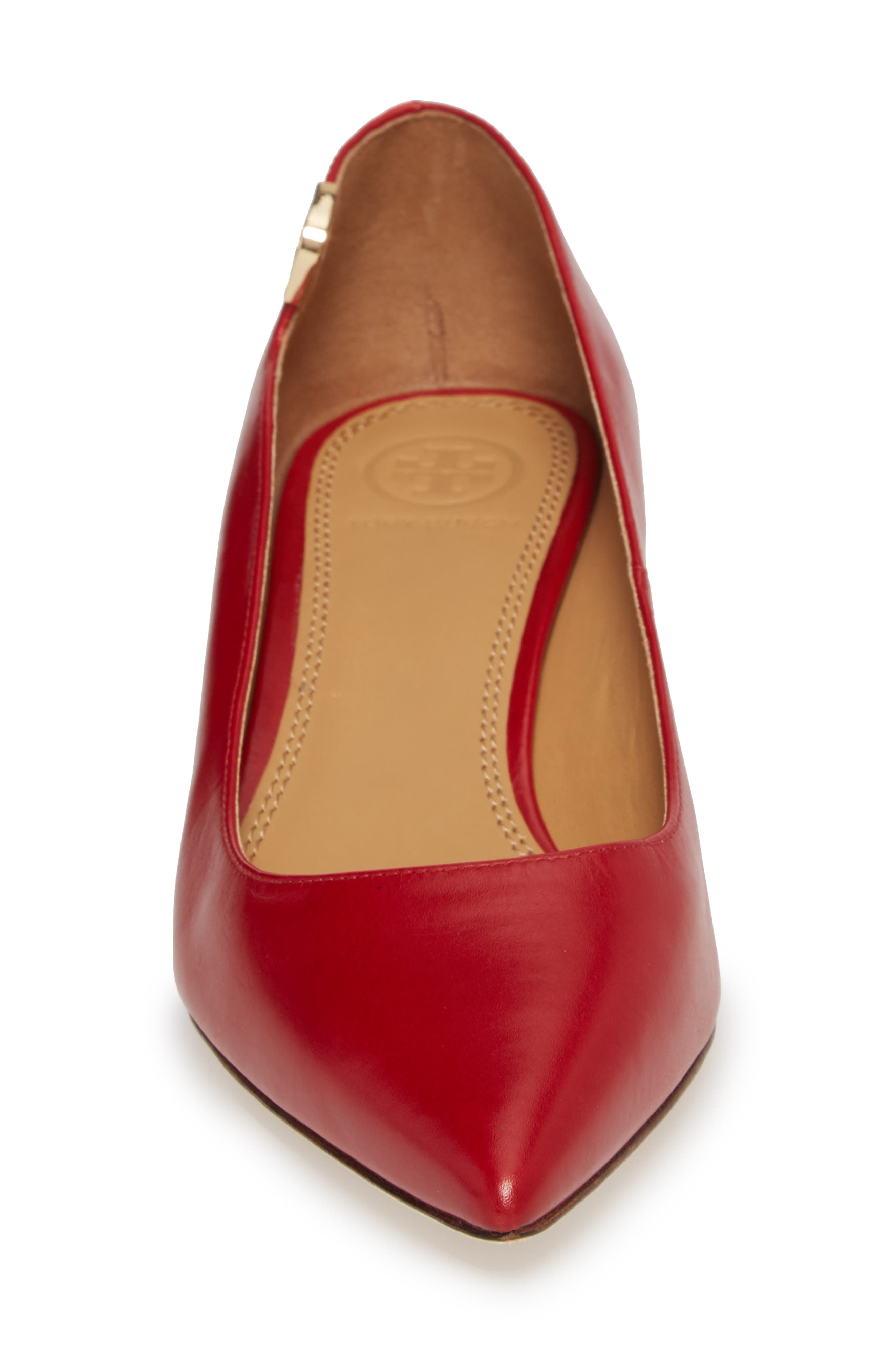 TORY BURCH,                             Elizabeth Pointy Toe Pump,                             Alternate thumbnail 4, color,                             601