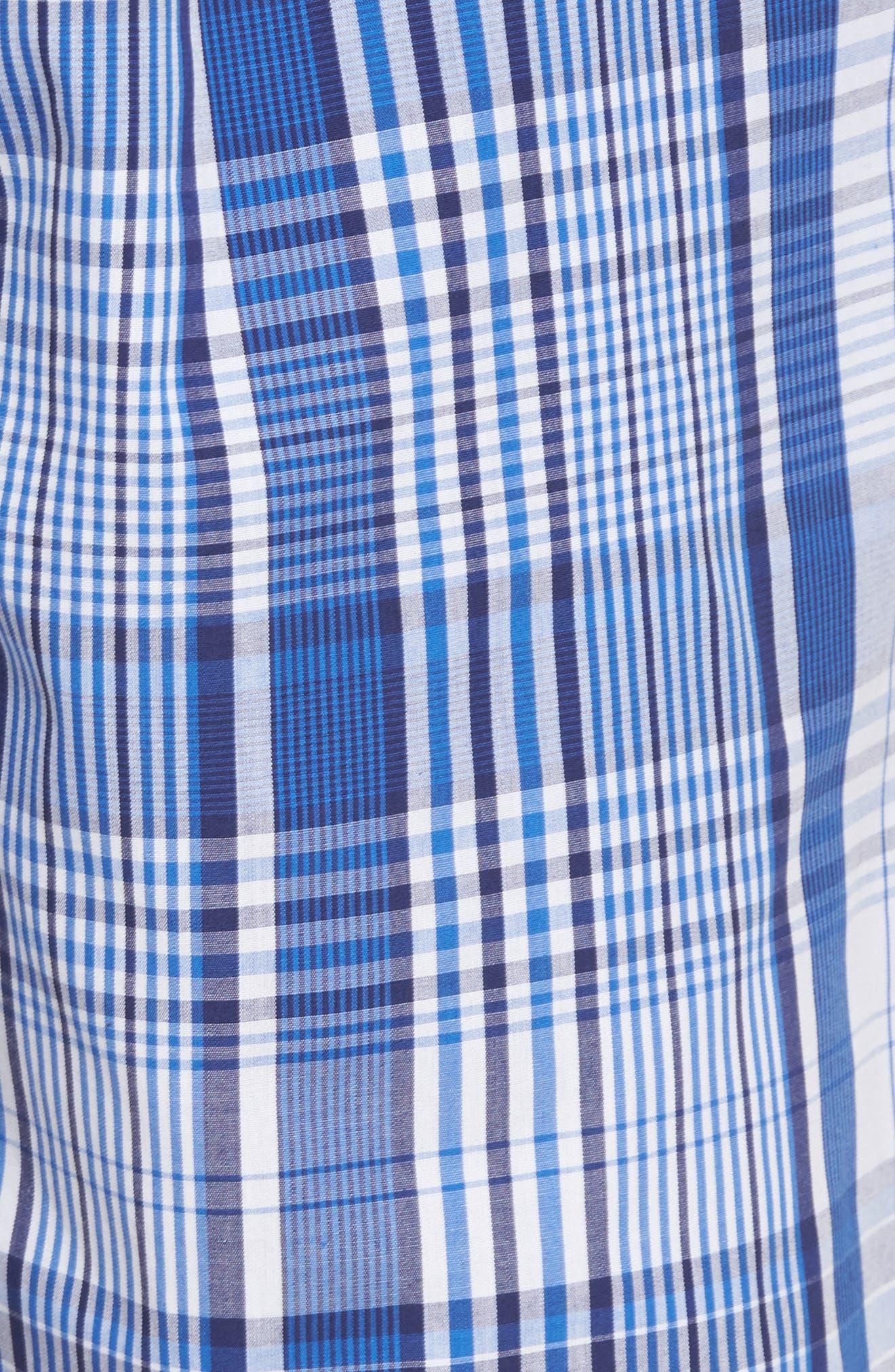 Cotton Pajama Shorts,                             Alternate thumbnail 5, color,                             406