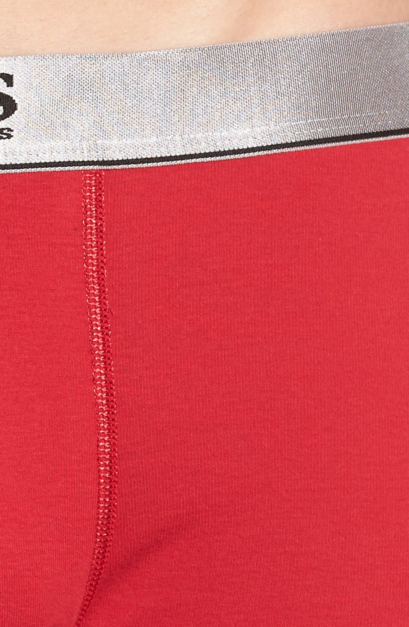 2-Pack Cotton Trunks,                             Alternate thumbnail 5, color,                             RED