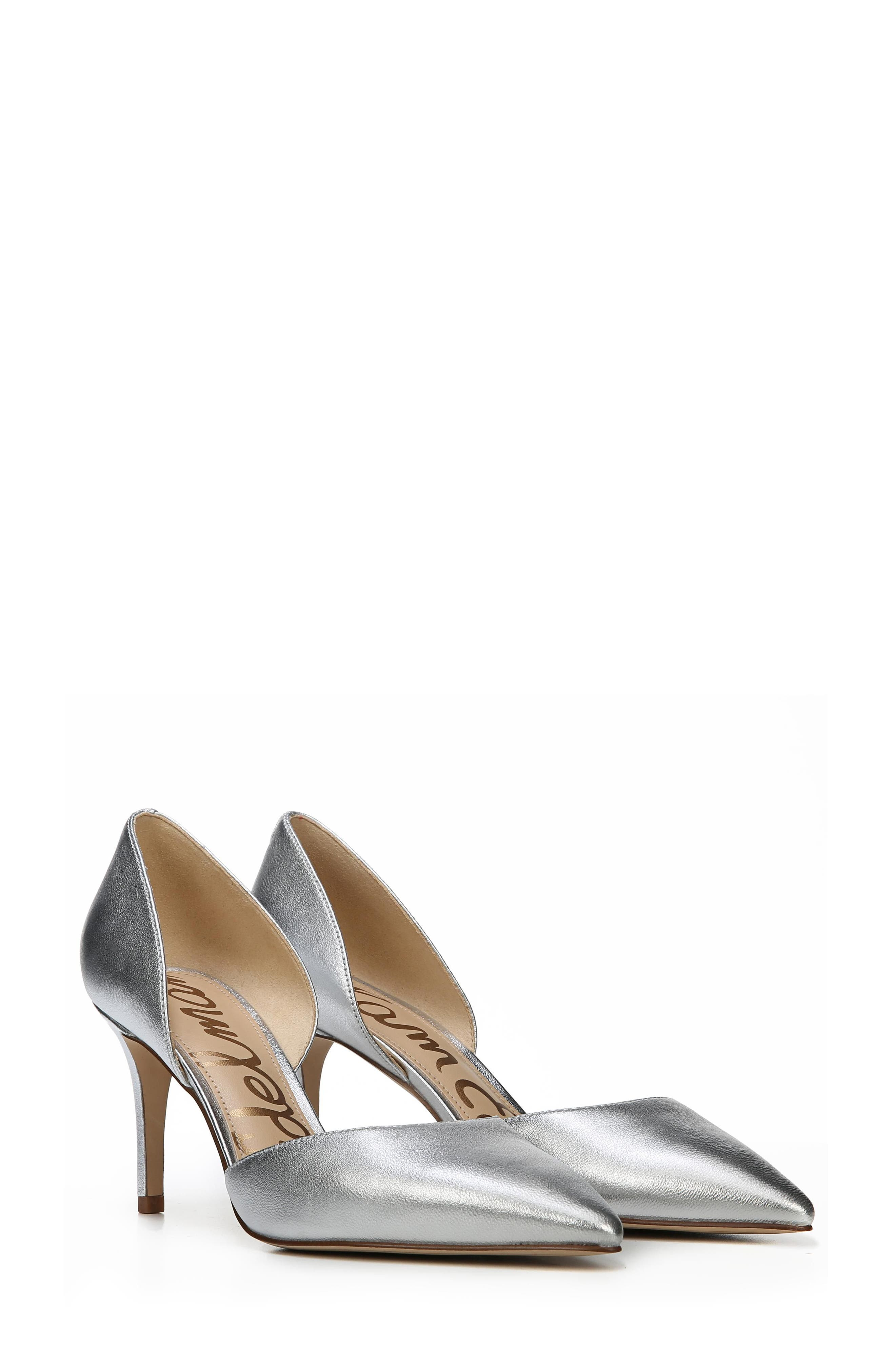 'Telsa' d'Orsay Pointy Toe Pump,                             Alternate thumbnail 8, color,                             040