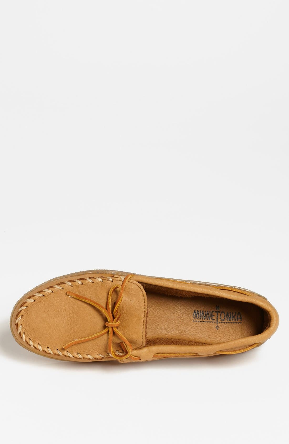 Moosehide Moccasin,                             Alternate thumbnail 3, color,                             NATURAL MOOSE