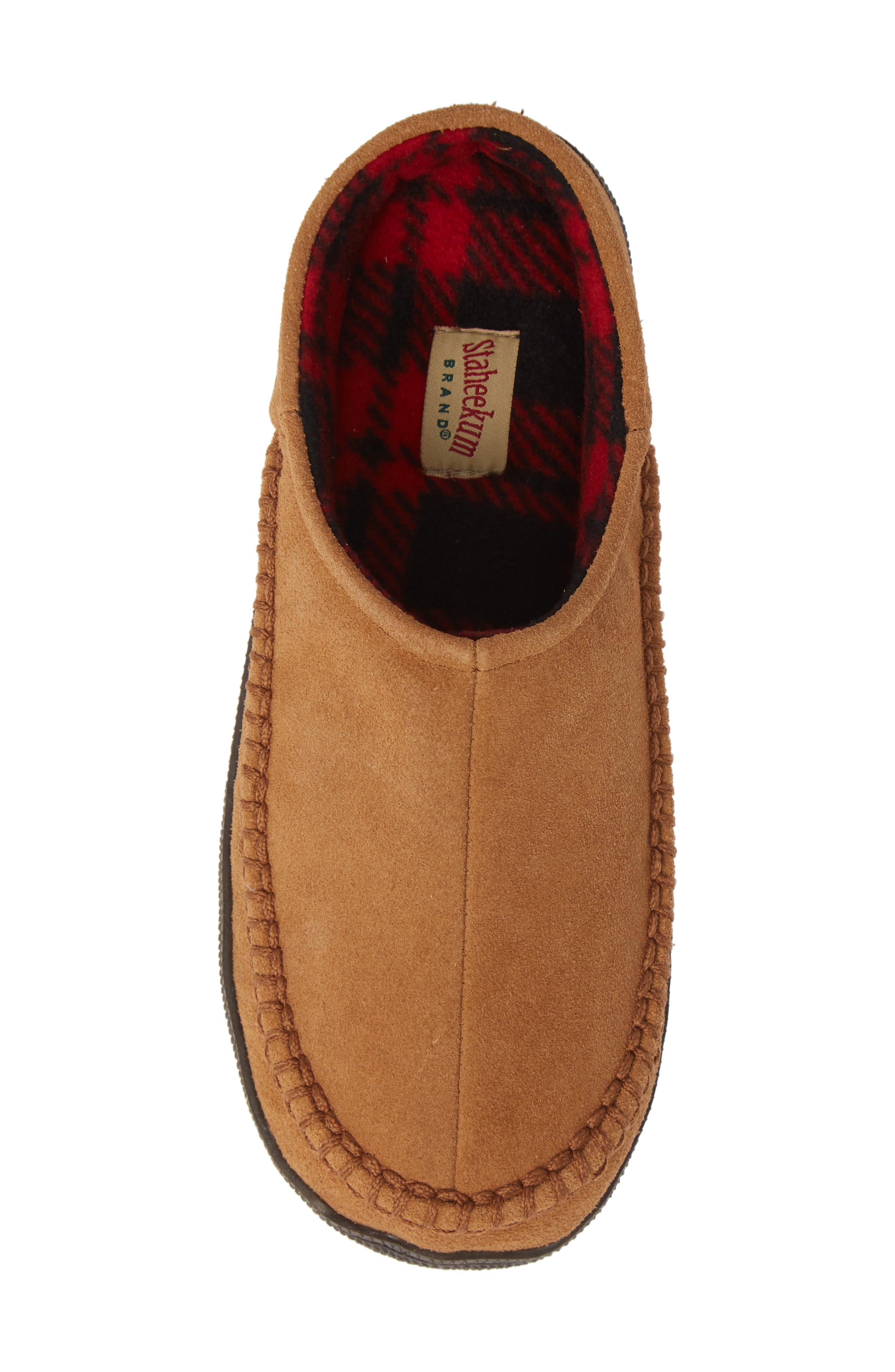 Cypress Flannel Lined Slipper,                             Alternate thumbnail 5, color,