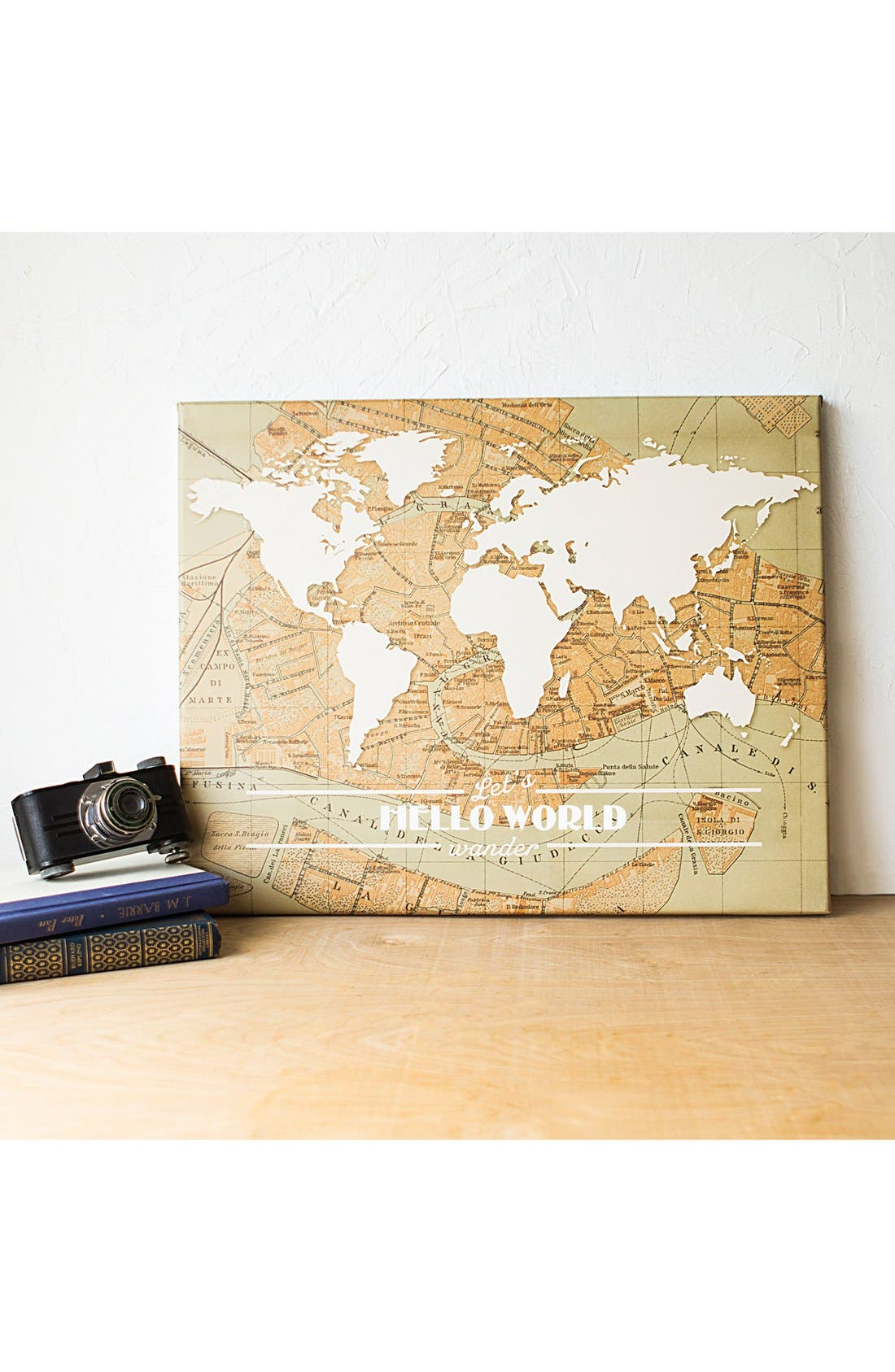 Travel the World Wall Art,                             Alternate thumbnail 4, color,