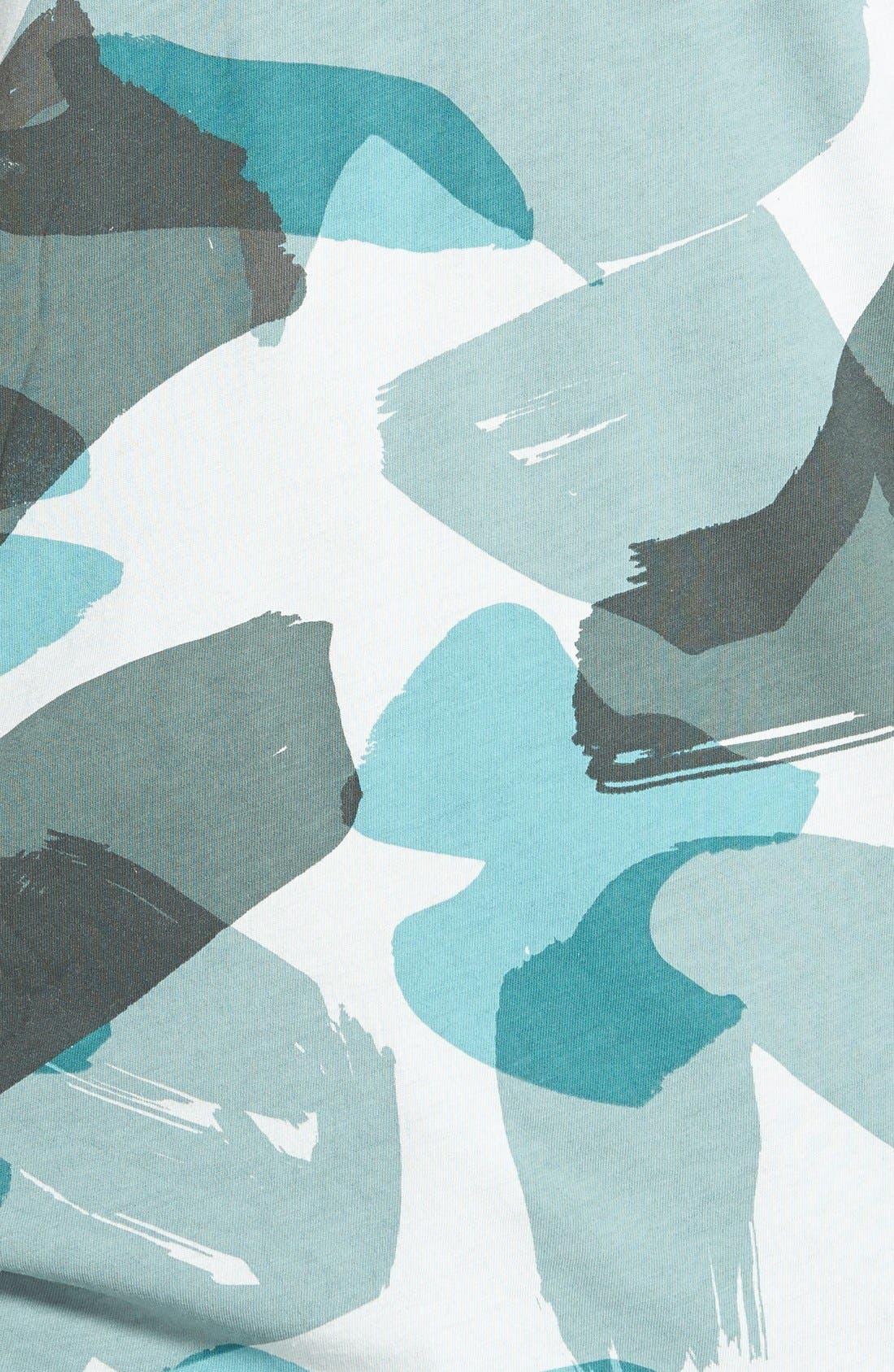 Brit 'Eliot' Camo Print T-Shirt,                             Alternate thumbnail 4, color,                             440