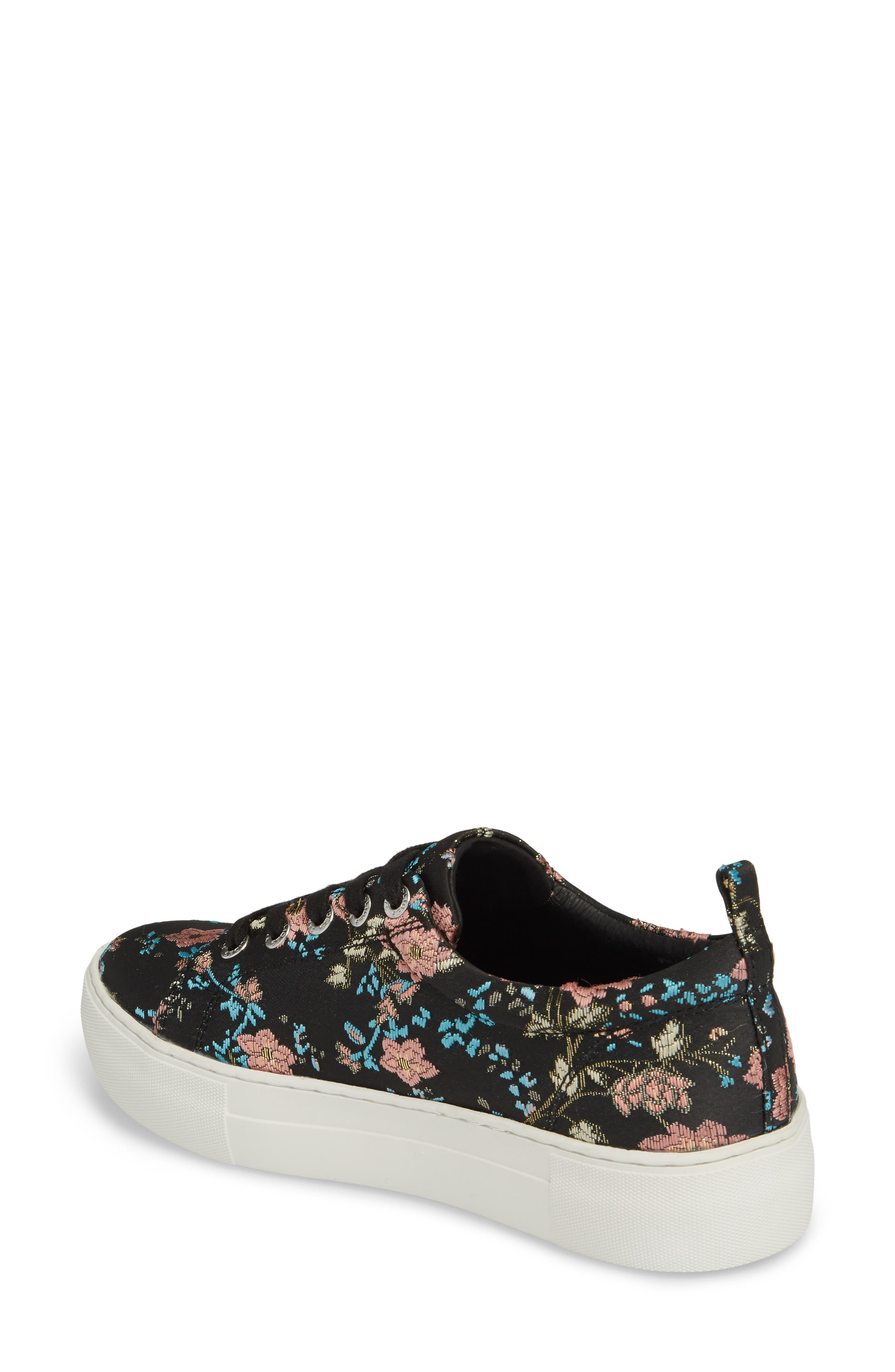 Assure Embroidered Platform Sneaker,                             Alternate thumbnail 2, color,                             016