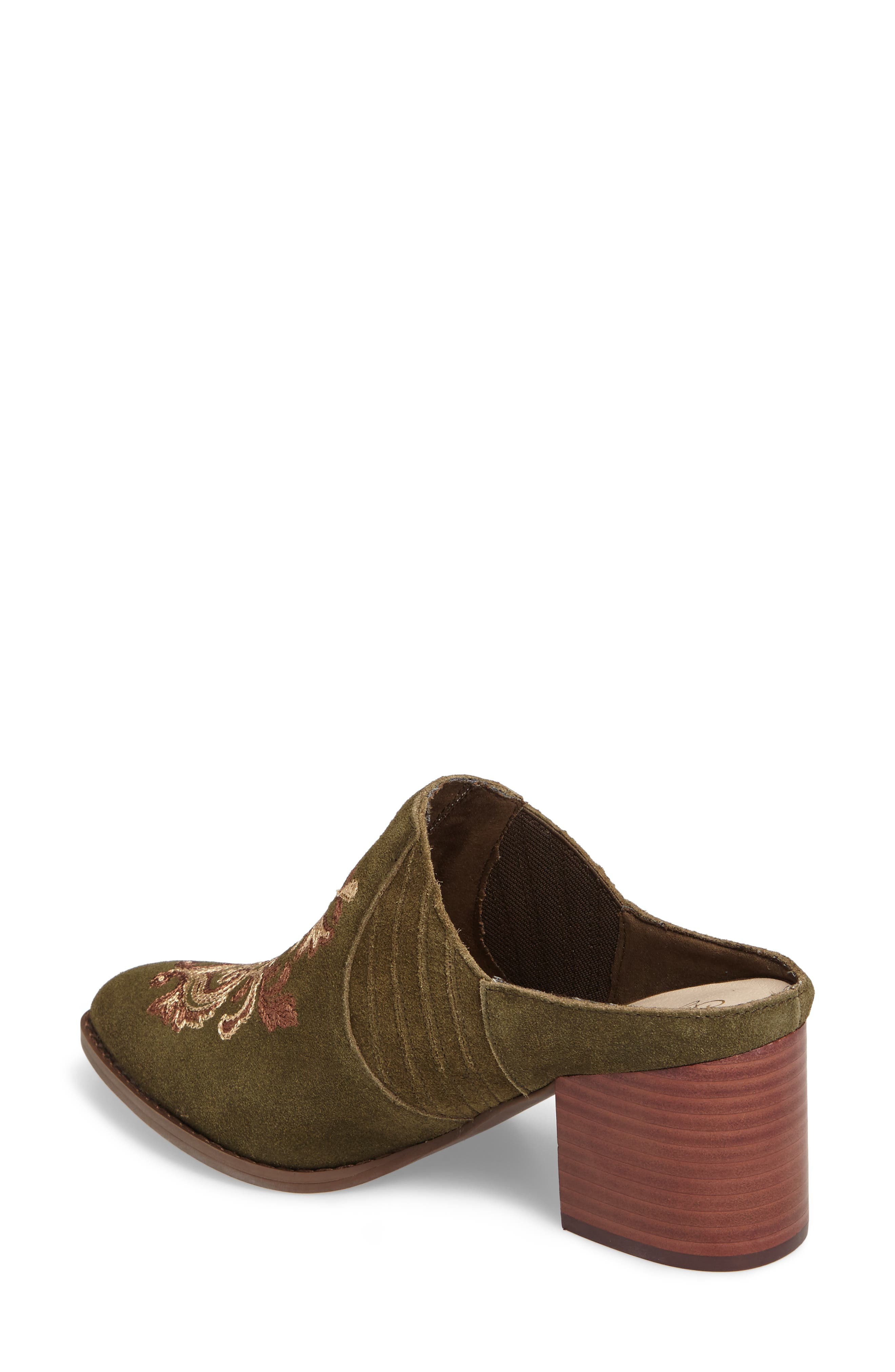 Dialogue Pointy Toe Mule,                             Alternate thumbnail 6, color,