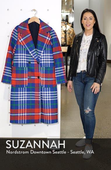 Long Plaid Coat, sales video thumbnail