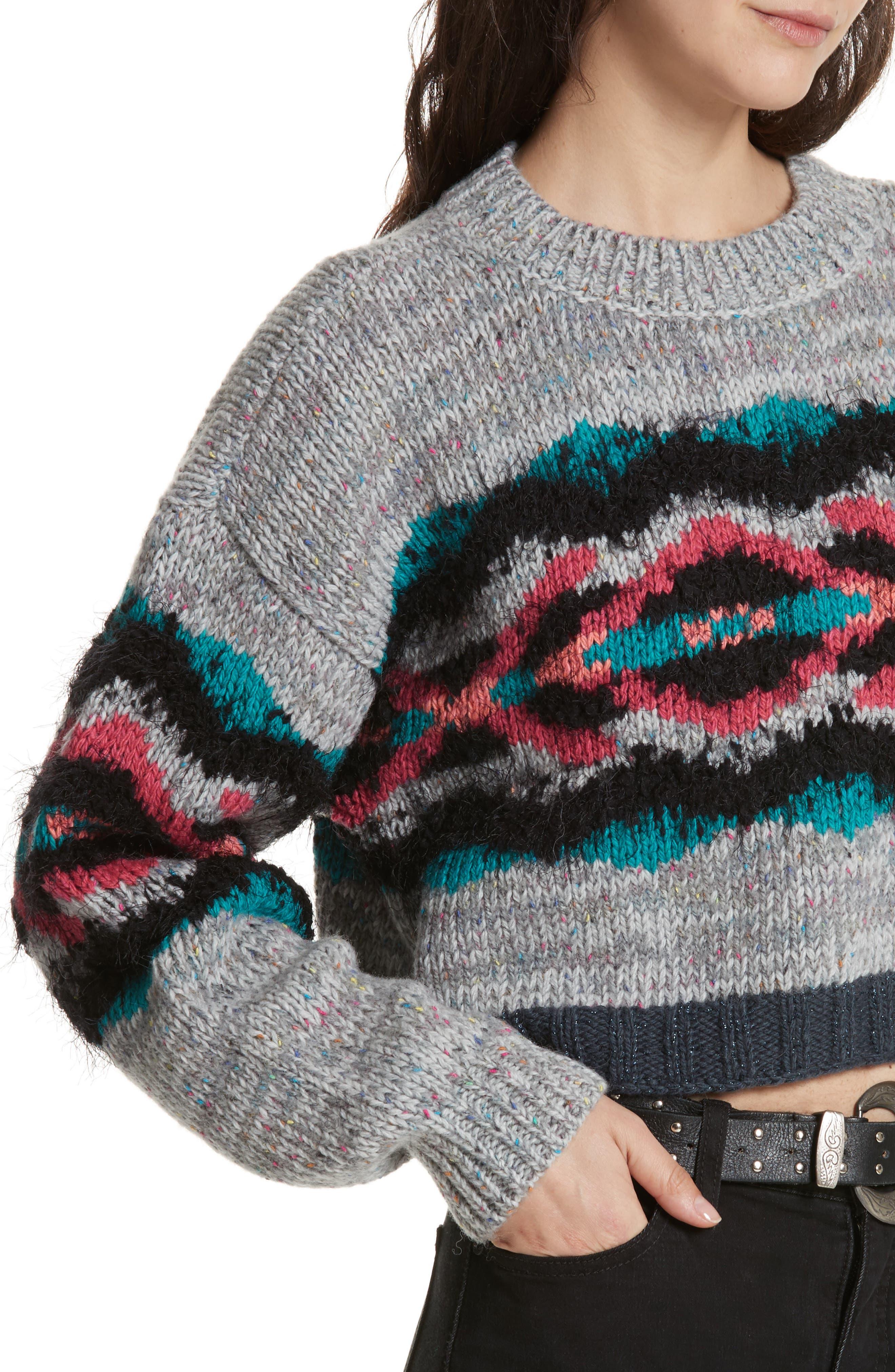 I Heart You Sweater,                             Alternate thumbnail 4, color,                             097