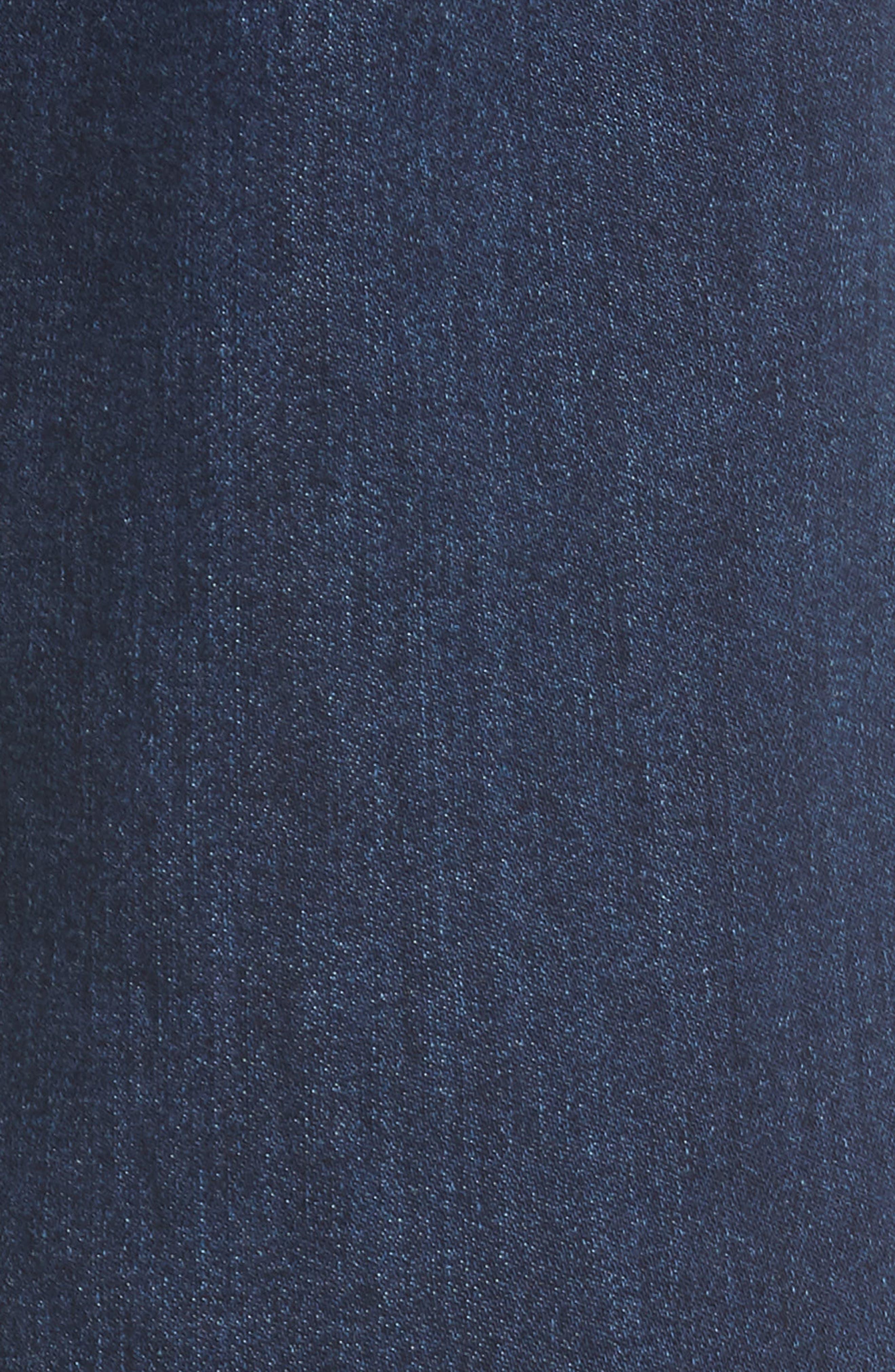 Classic Straight Leg Jeans,                             Alternate thumbnail 5, color,                             VALEN