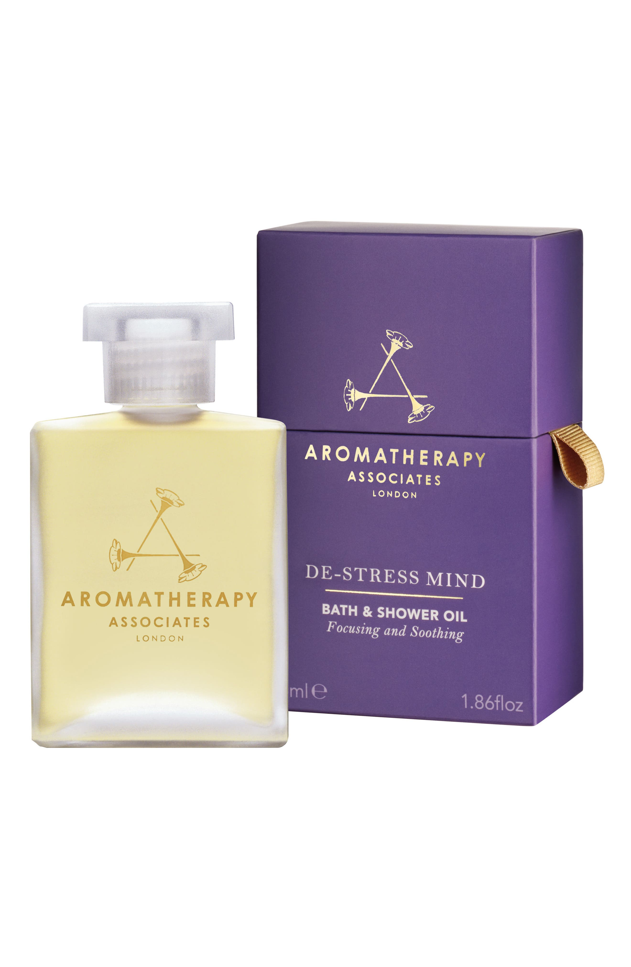 De-Stress Mind Bath & Shower Oil,                             Main thumbnail 1, color,                             DE-STRESS MIND