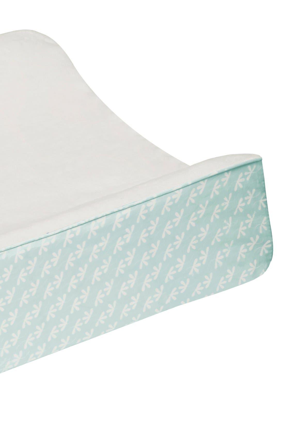 'Flora' Crib Sheet, Crib Skirt, Changing Pad Cover, Blanket & Wall Decals,                             Alternate thumbnail 6, color,                             400