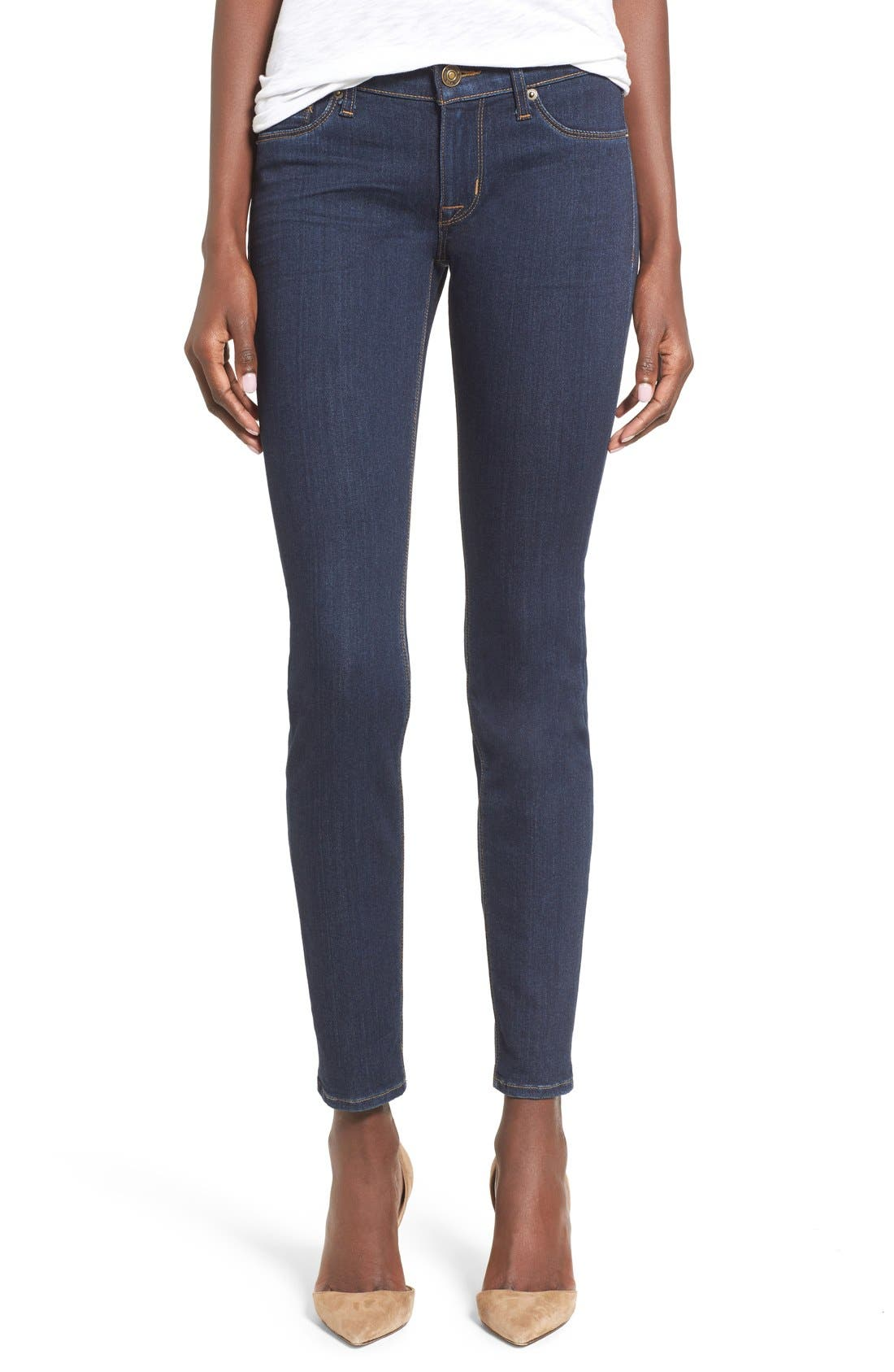 'Krista' Super Skinny Jeans,                             Main thumbnail 1, color,                             408