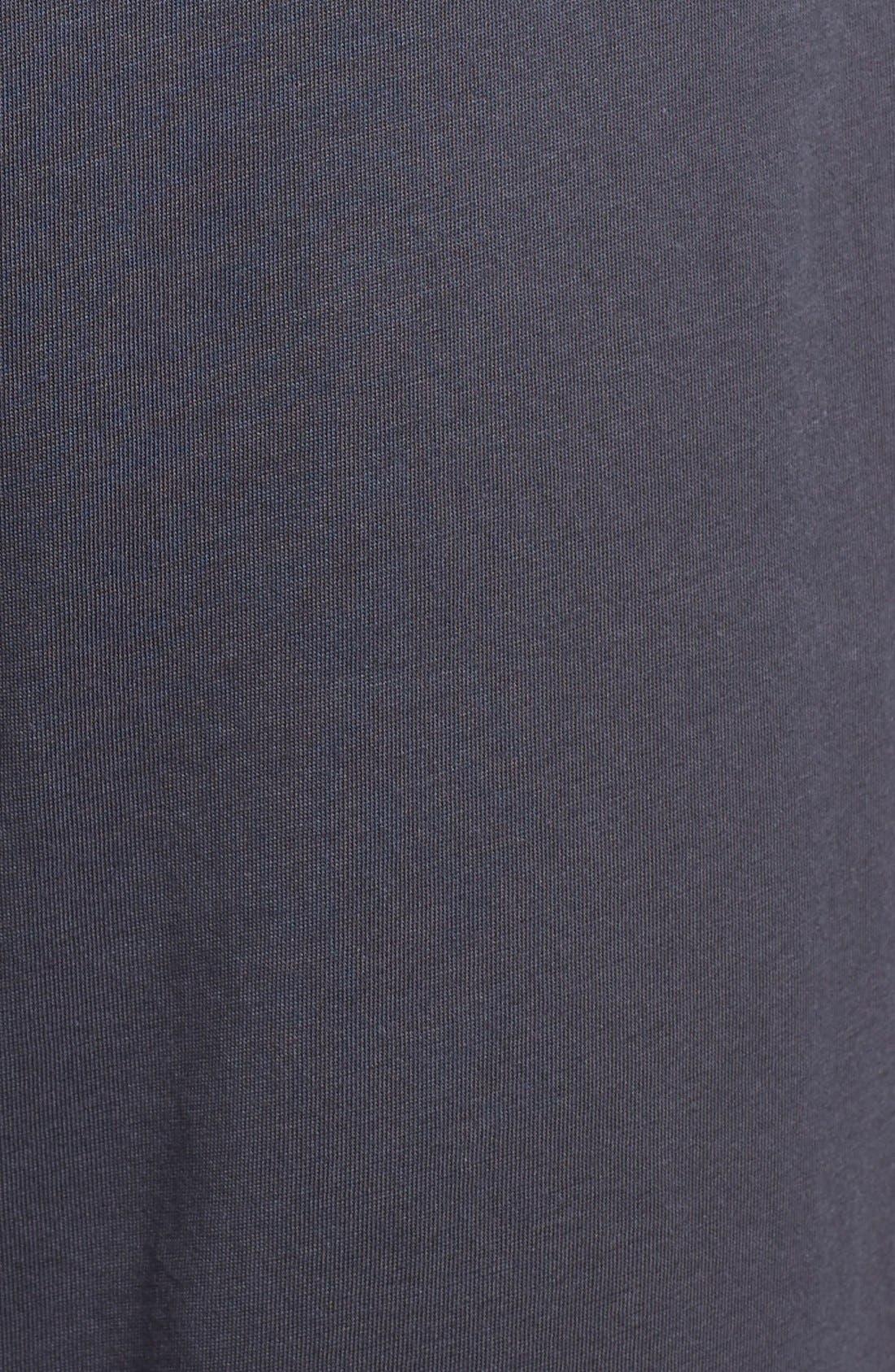 Peruvian Pima Cotton Lounge Pants,                             Alternate thumbnail 5, color,                             INK