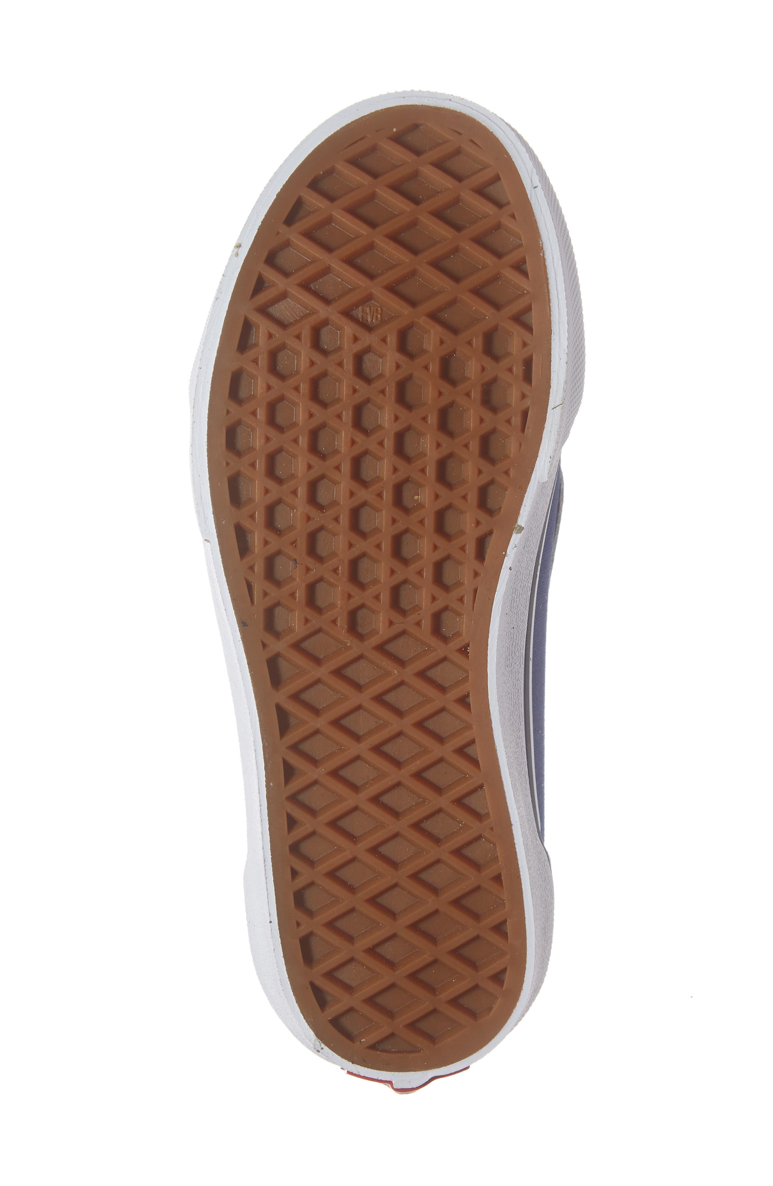 Old Skool V Sneaker,                             Alternate thumbnail 6, color,                             NAVY/ TRUE WHITE