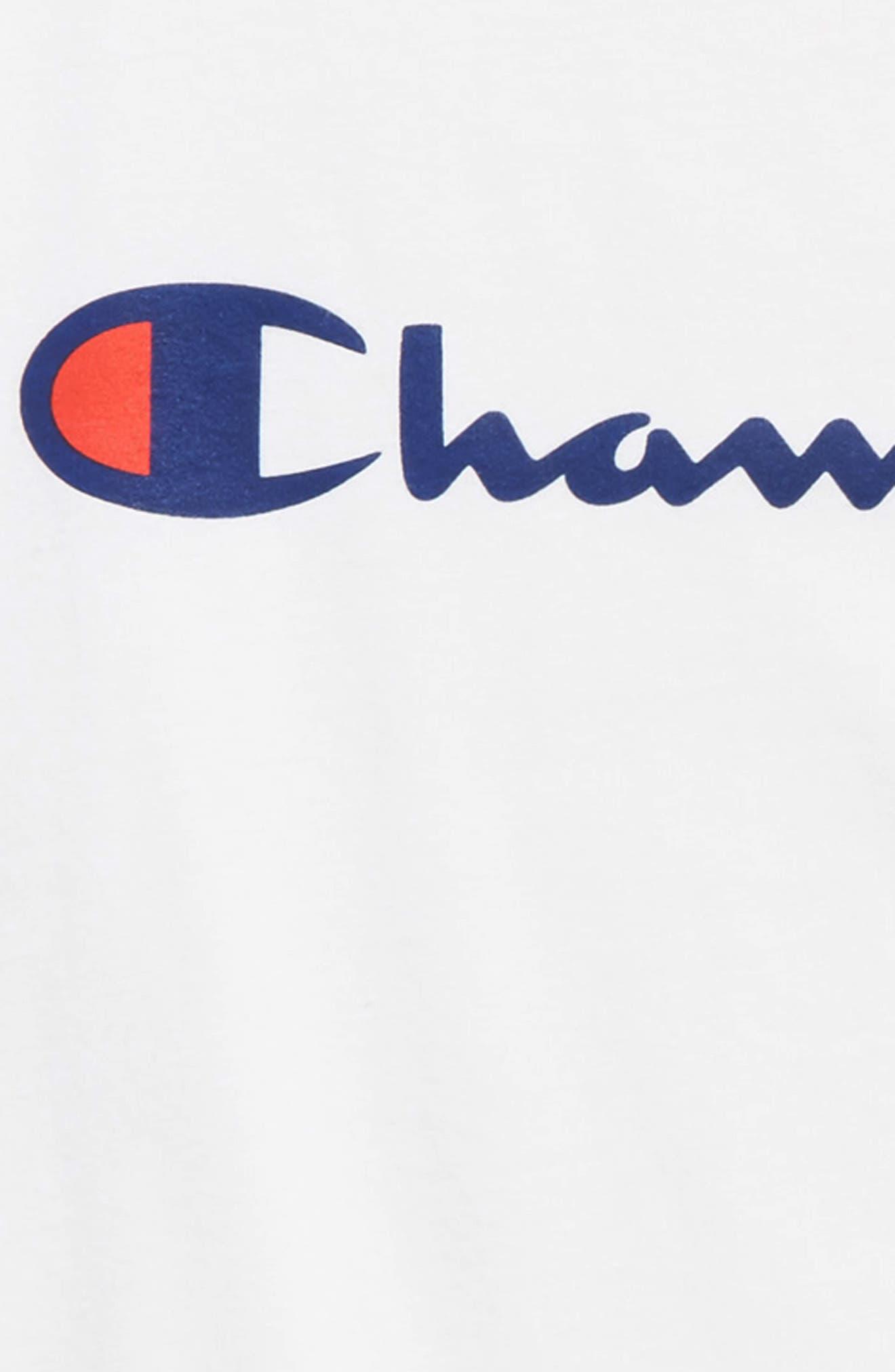 Heritage Logo T-Shirt,                             Alternate thumbnail 2, color,                             WHITE