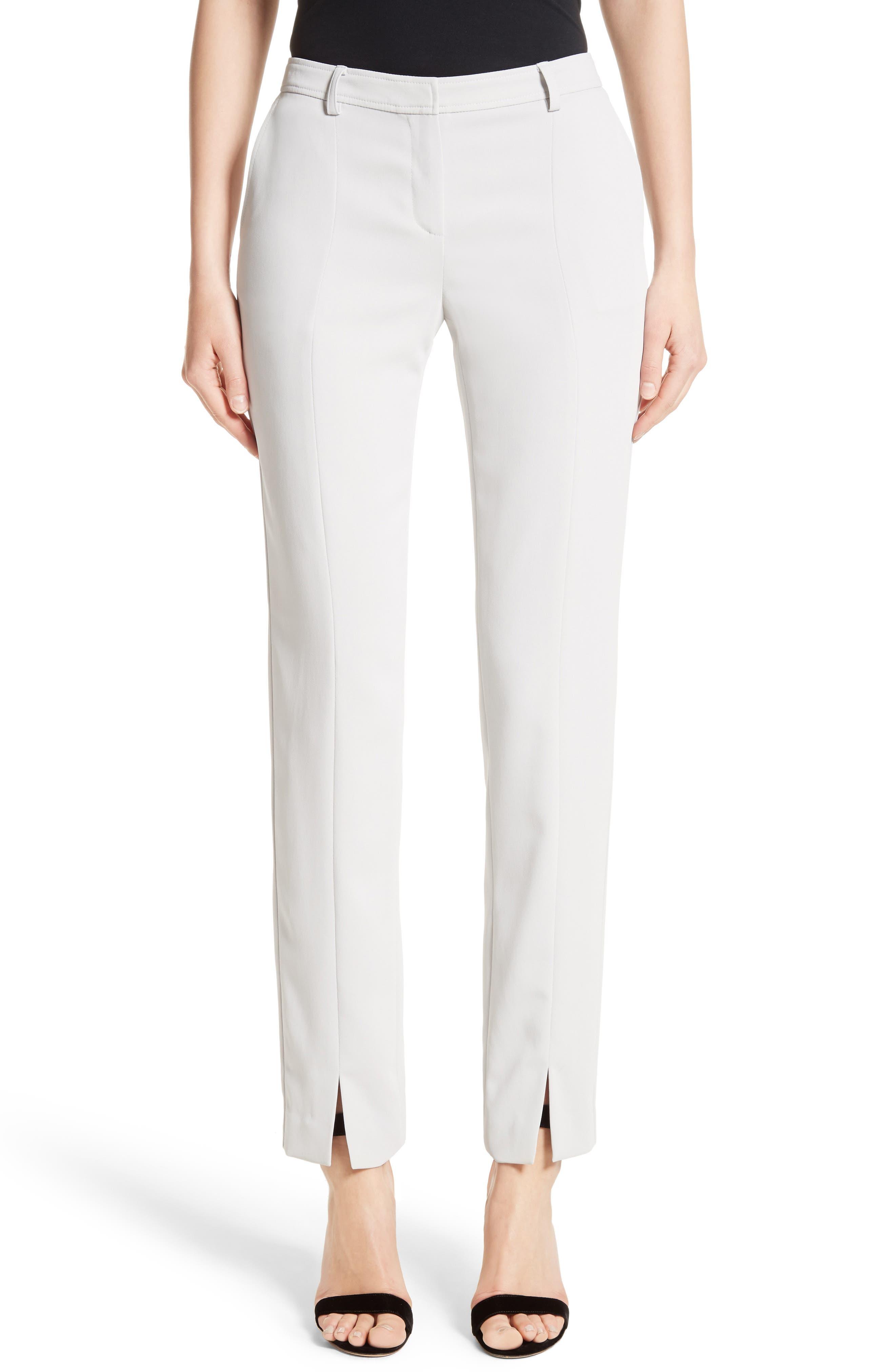 Jennifer Stretch Cady Pants,                         Main,                         color, 050
