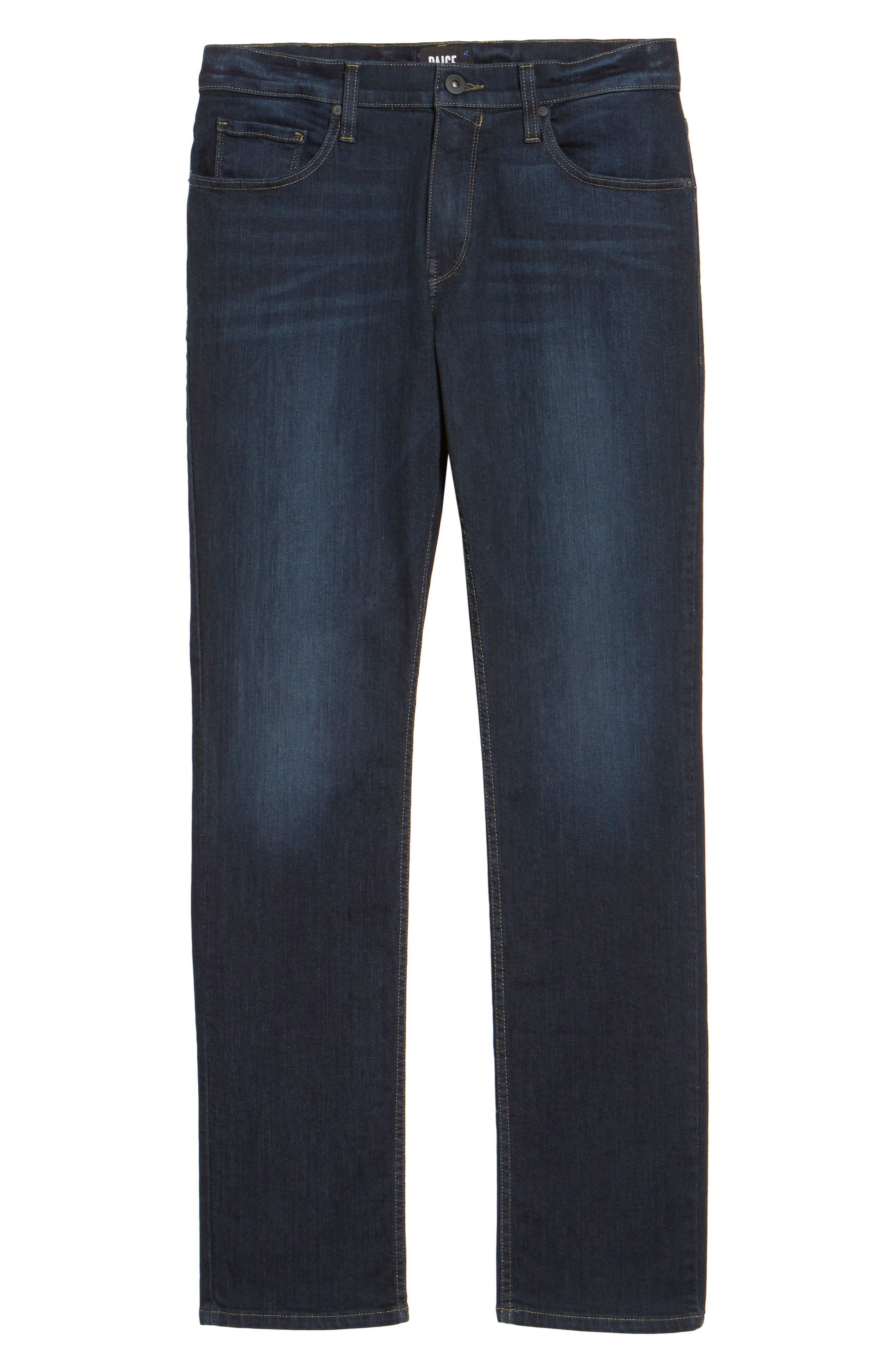 Federal Slim Straight Fit Jeans,                             Alternate thumbnail 6, color,                             400
