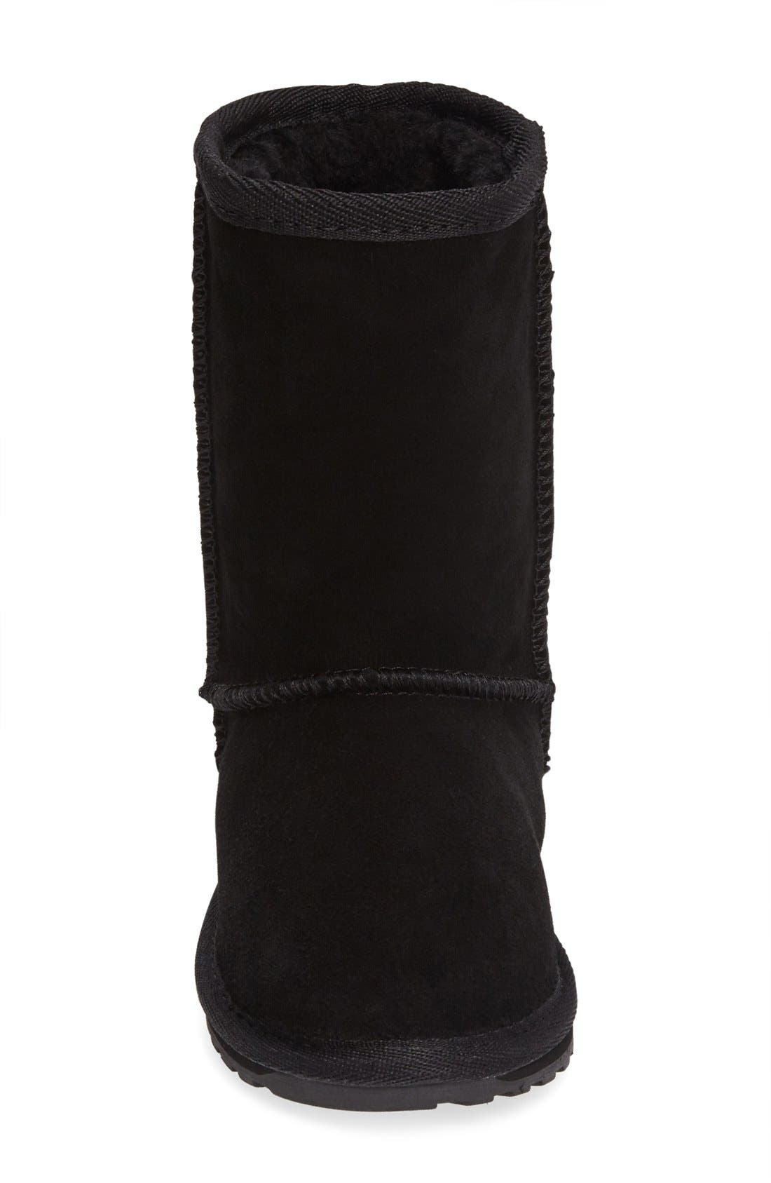 Wallaby Lo Boot,                             Alternate thumbnail 7, color,                             BLACK